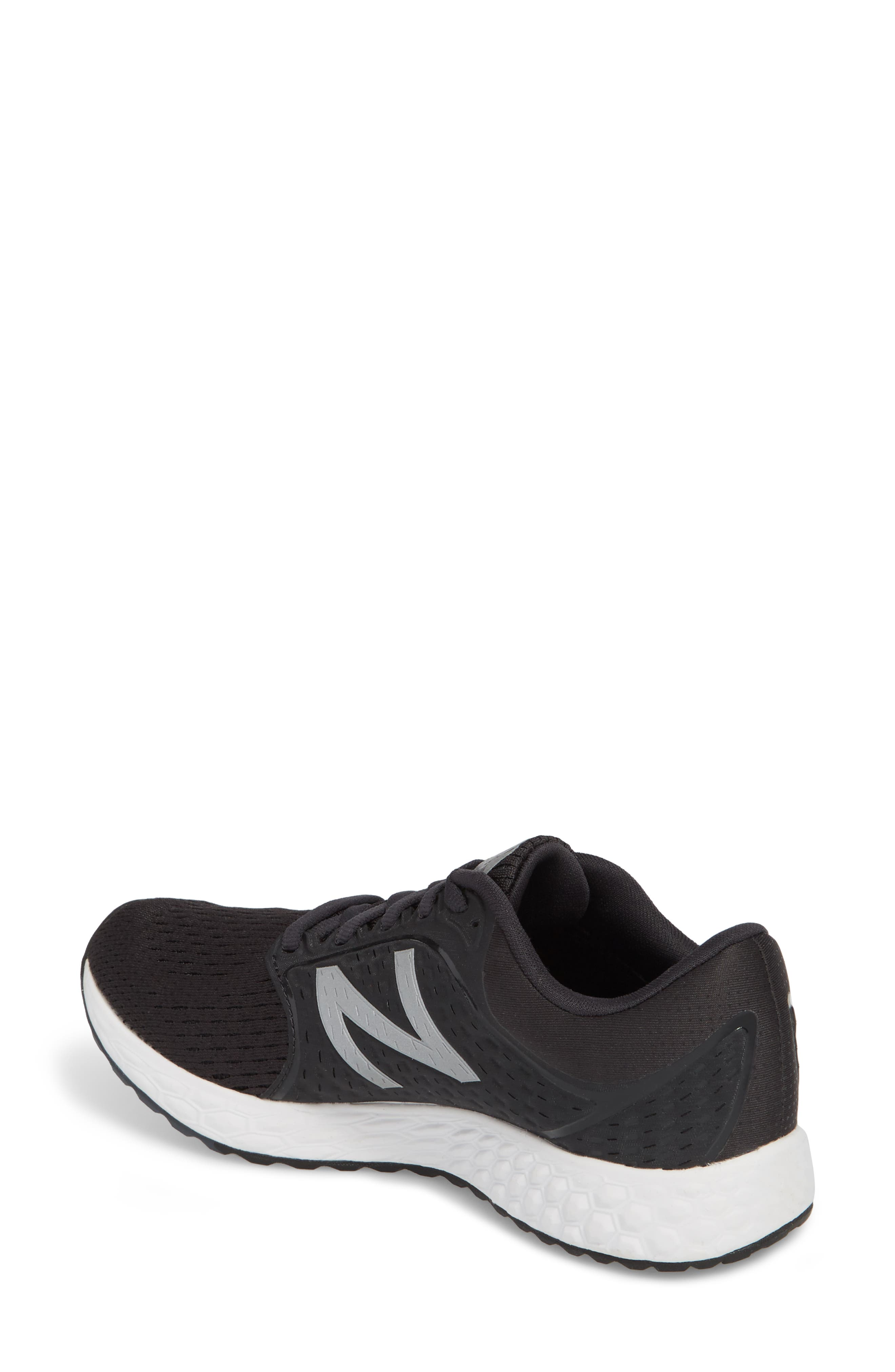 Fresh Foam Zante v4 Running Shoe,                             Alternate thumbnail 2, color,                             Black