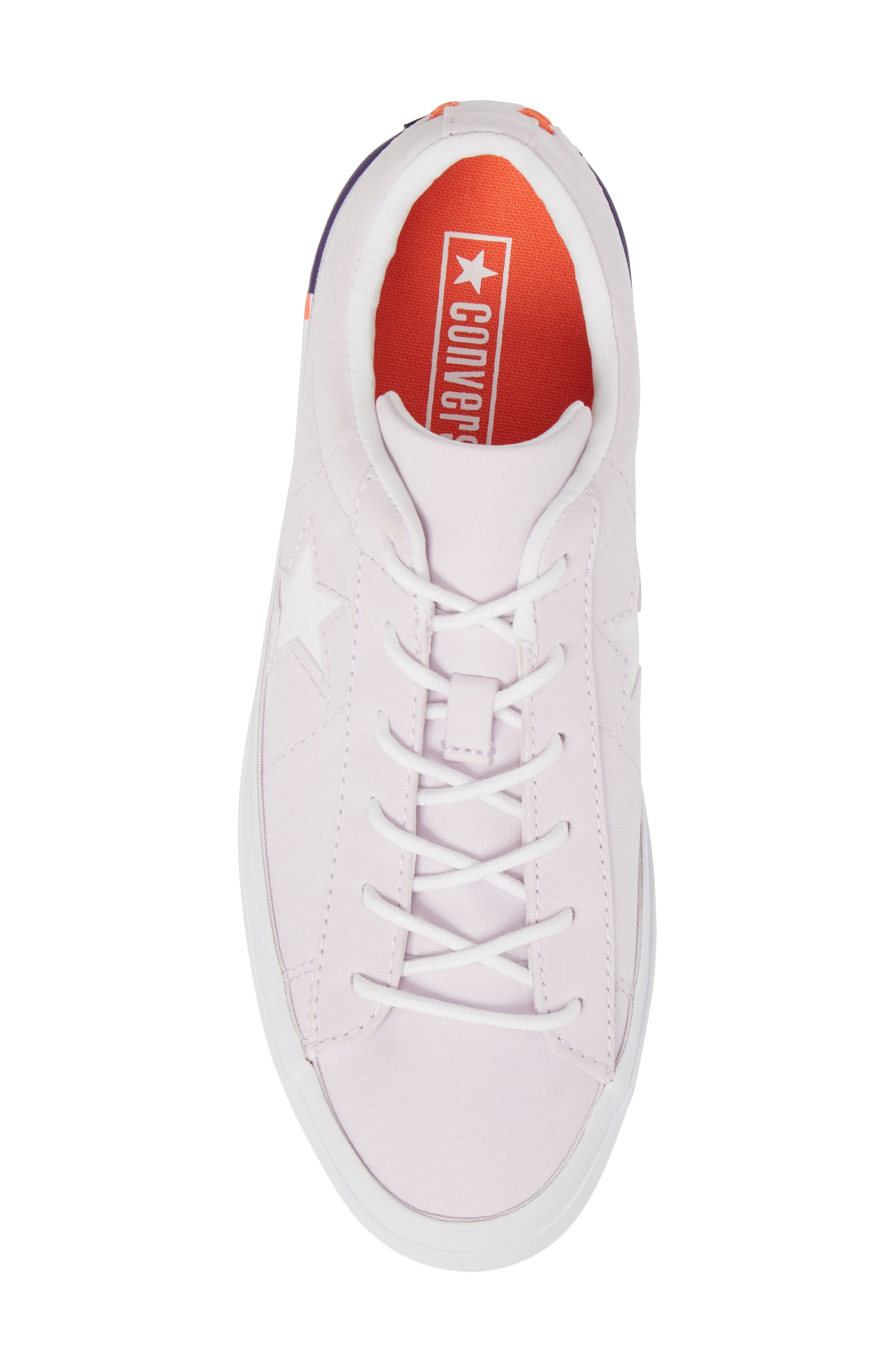 Chuck Taylor<sup>®</sup> All Star<sup>®</sup> One Star Platform Sneaker,                             Alternate thumbnail 5, color,                             Barely Grape