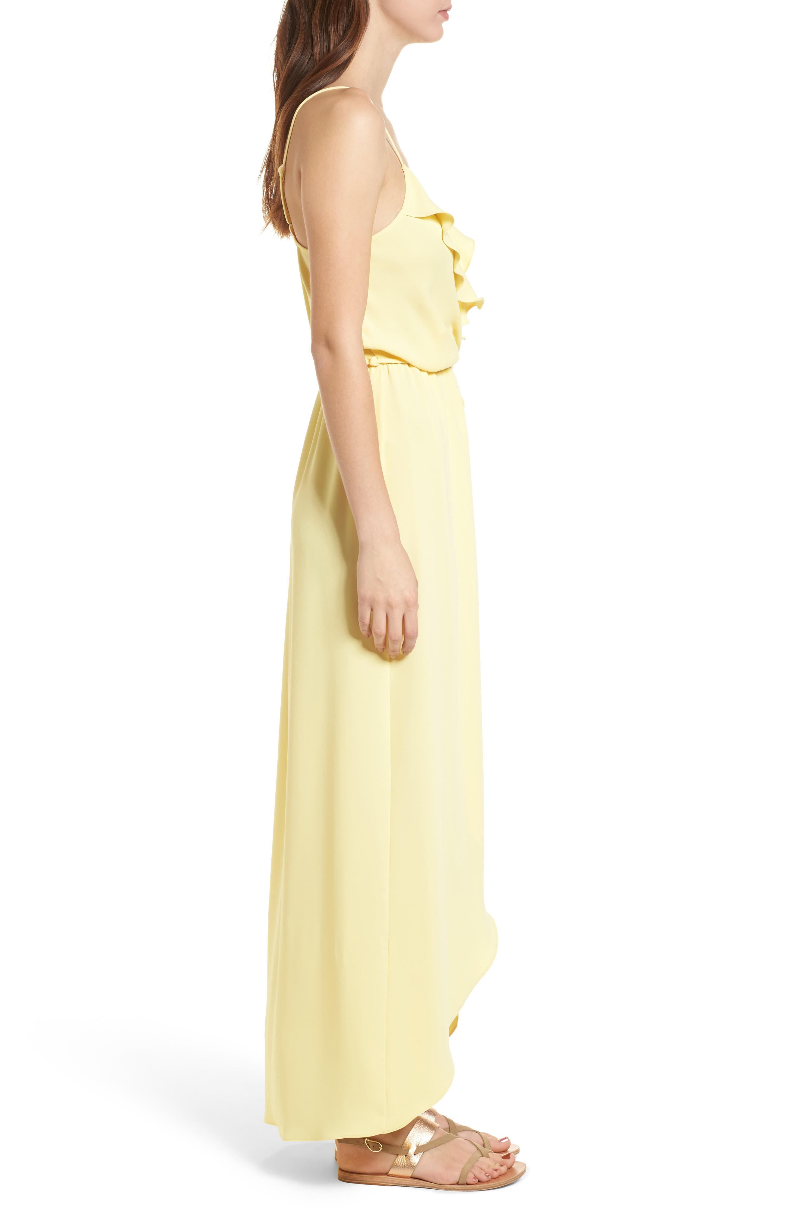Alternate Image 3  - Everly Ruffle Wrap Maxi Dress