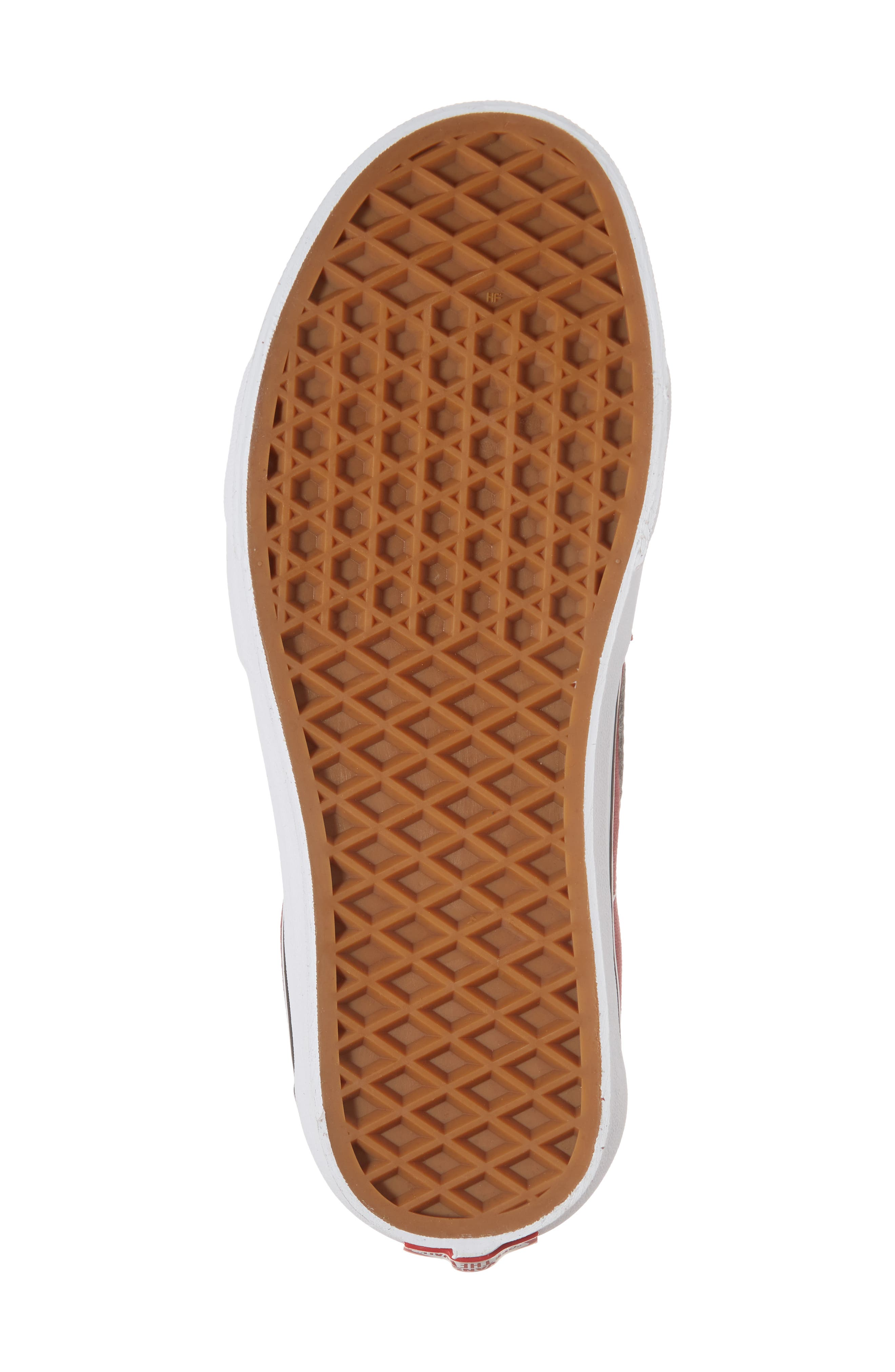 'Sk8-Hi Slim' Sneaker,                             Alternate thumbnail 6, color,                             Apple Butter/ True White