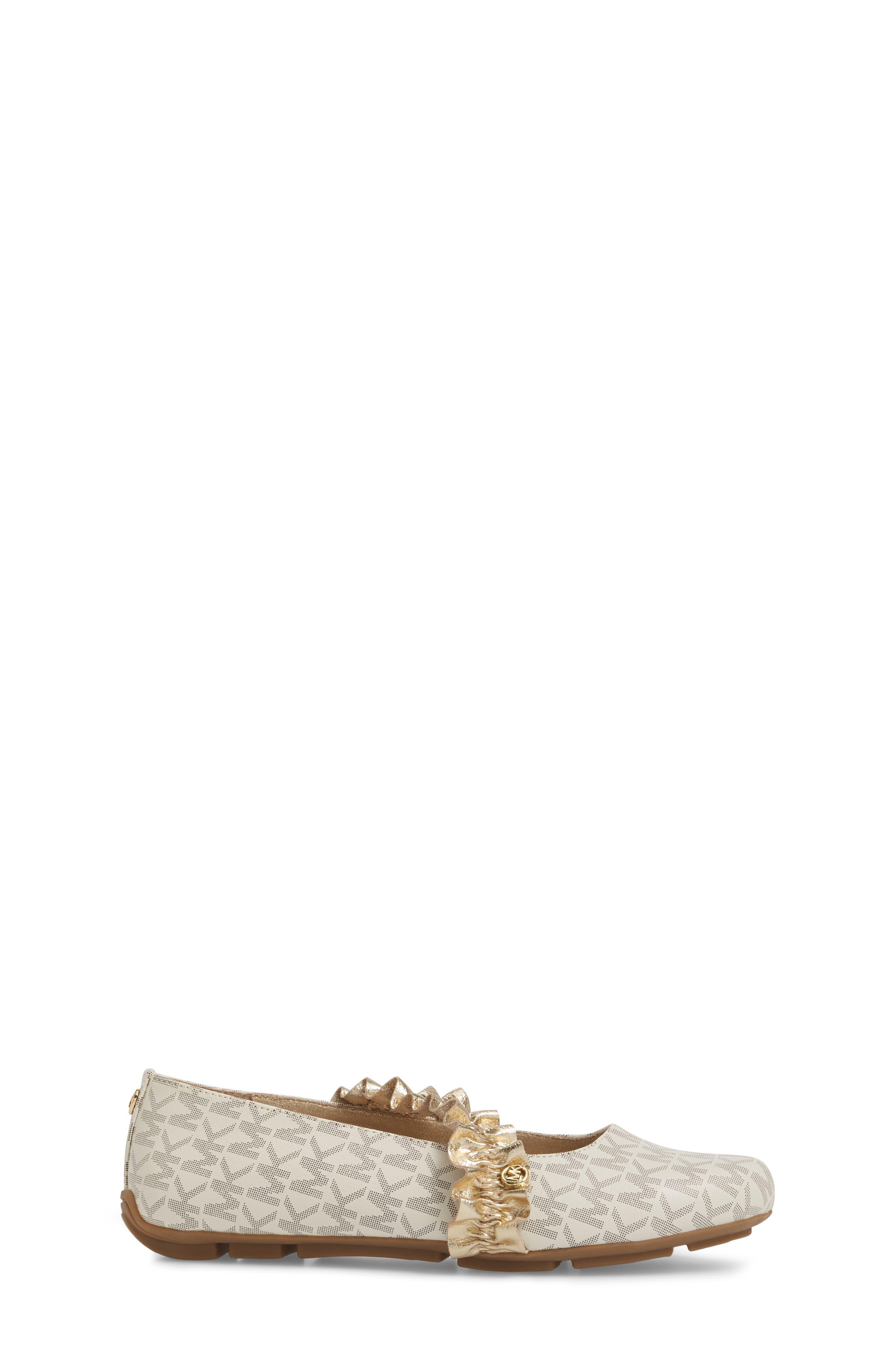 Rover Ruff Mary Jane Flat,                             Alternate thumbnail 3, color,                             Vanilla