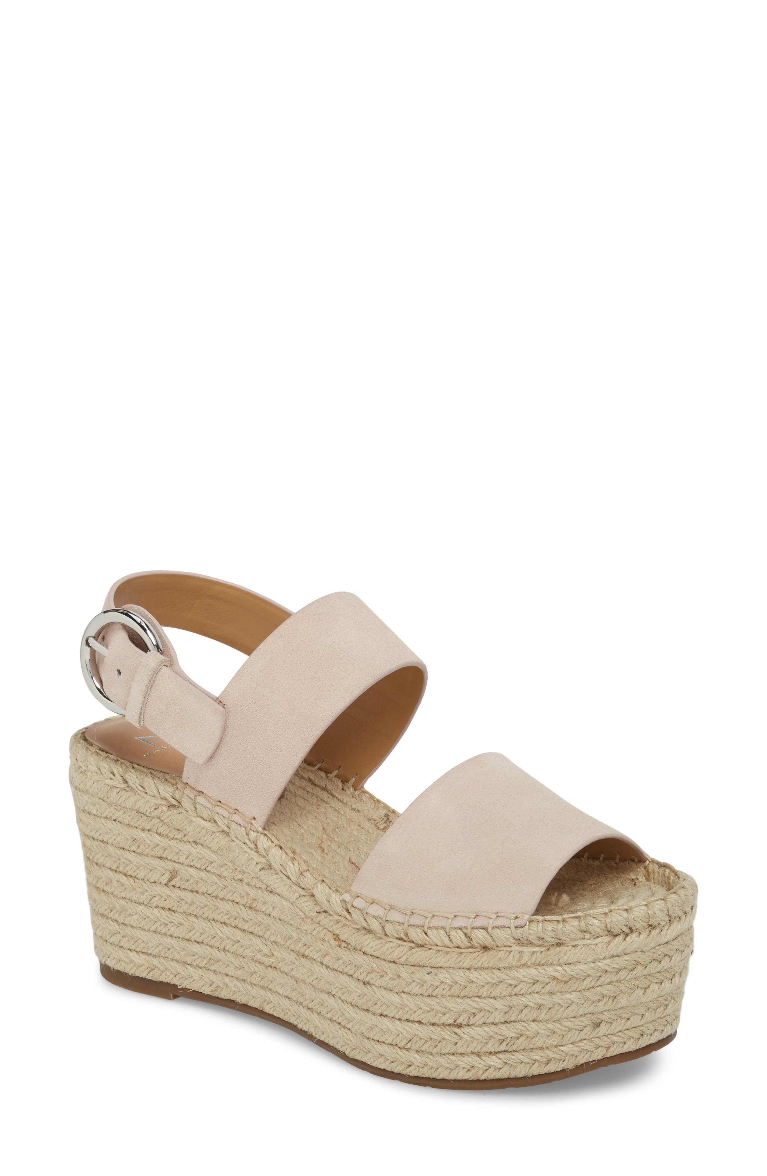 Marc Fisher LTD Renni Espadrille Platform Wedge Sandal (Women)