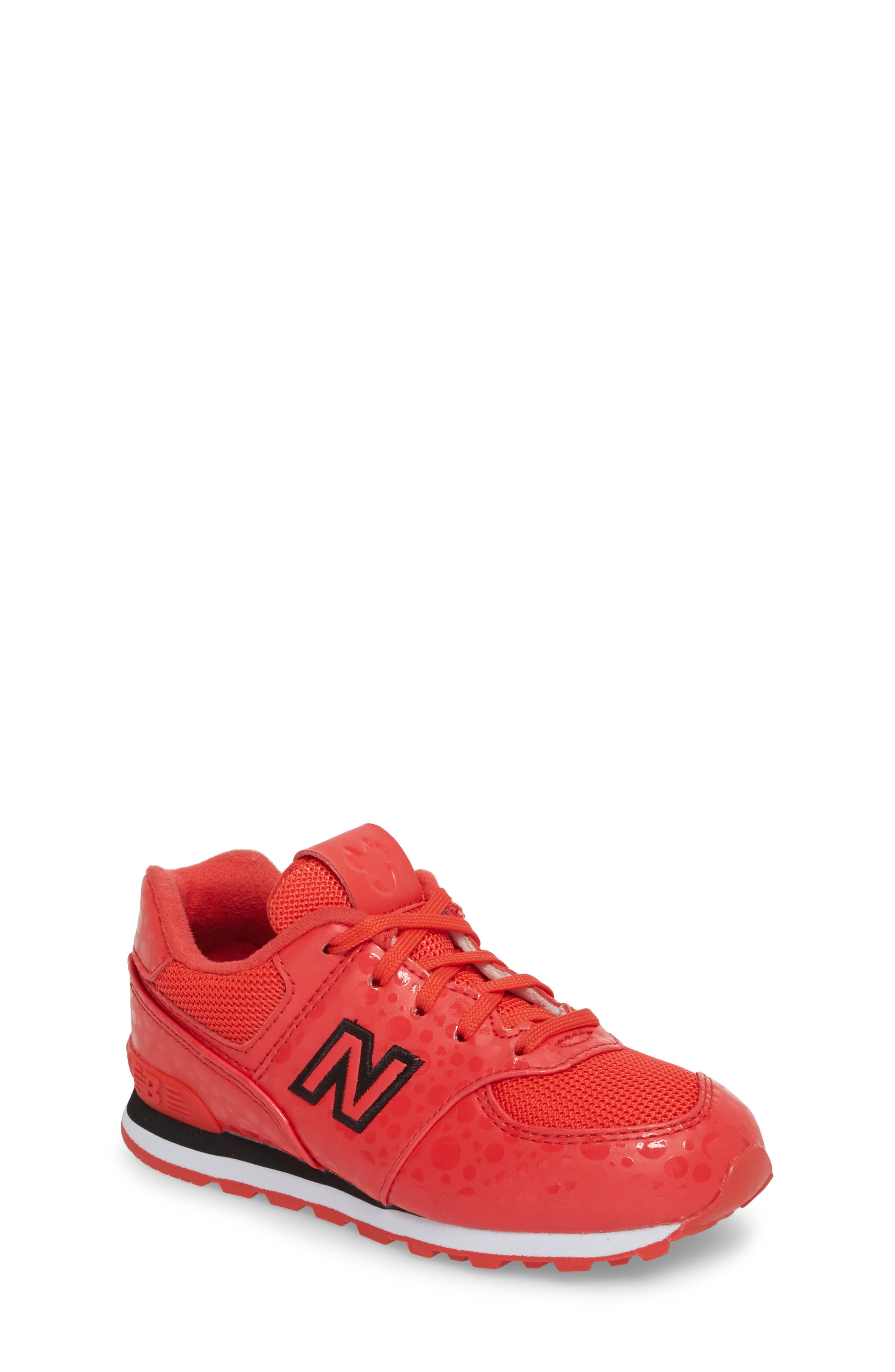 New Balance x Disney 574 Minnie Mouse Sneaker (Baby, Walker, Toddler, Little Kid & Big Kid)