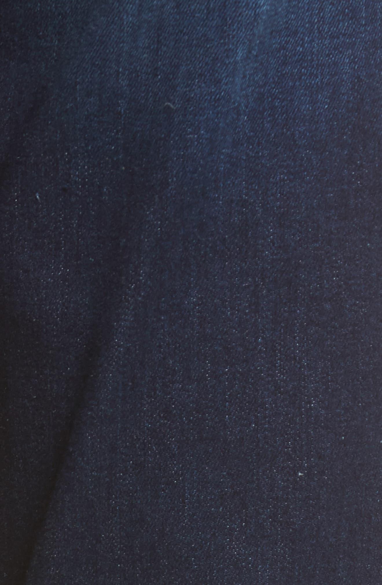 High Waist Skinny Jeans,                             Alternate thumbnail 5, color,                             Moreno