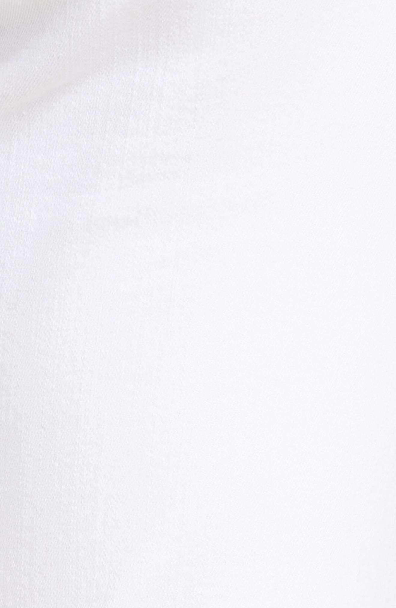 Maria High Waist Skinny Jeans,                             Alternate thumbnail 6, color,                             White