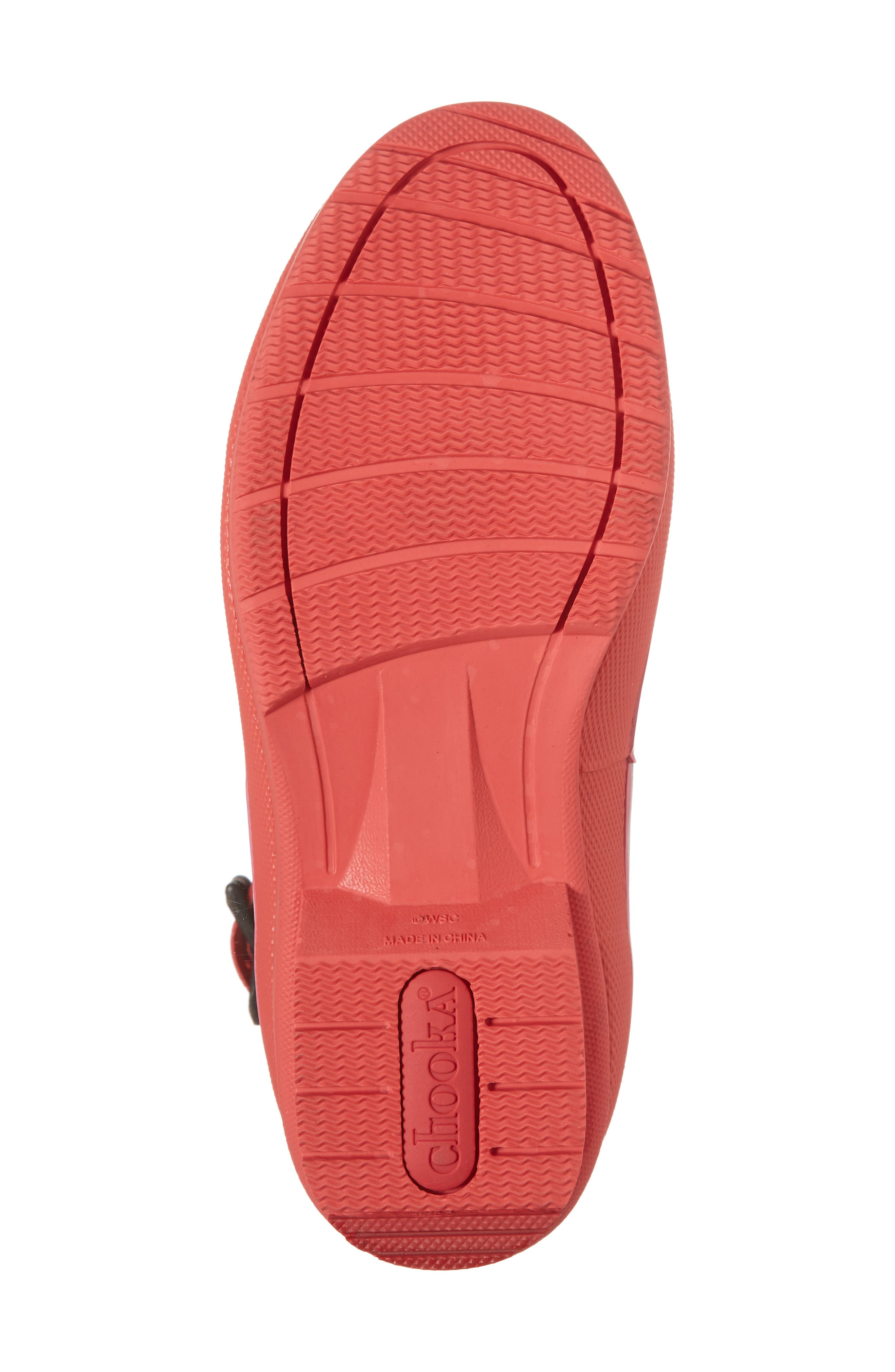 Hilde Mid Rain Boot,                             Alternate thumbnail 6, color,                             Fuchsia