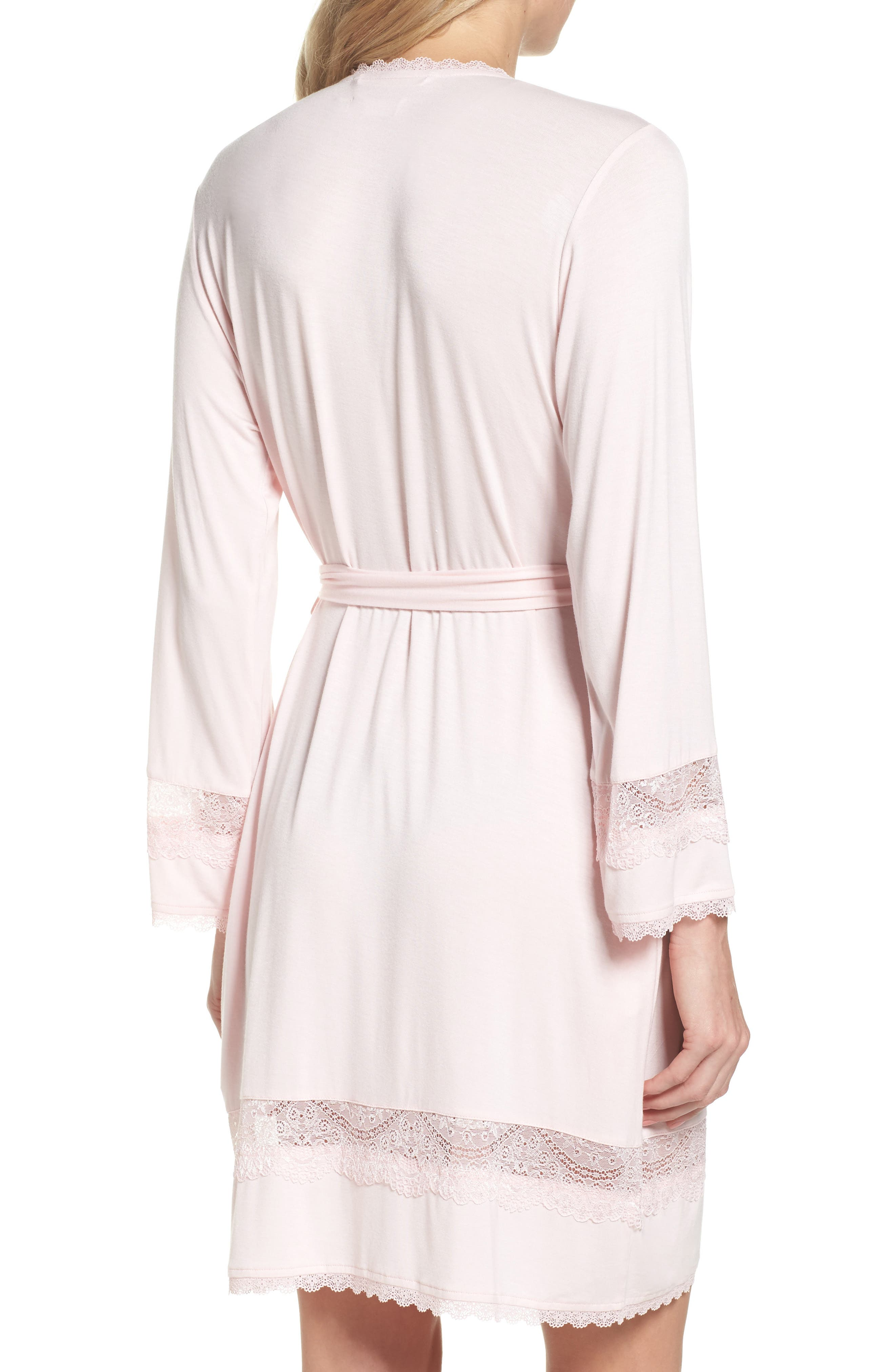 Cosima Embellished Robe,                             Alternate thumbnail 2, color,                             Seashell Pink