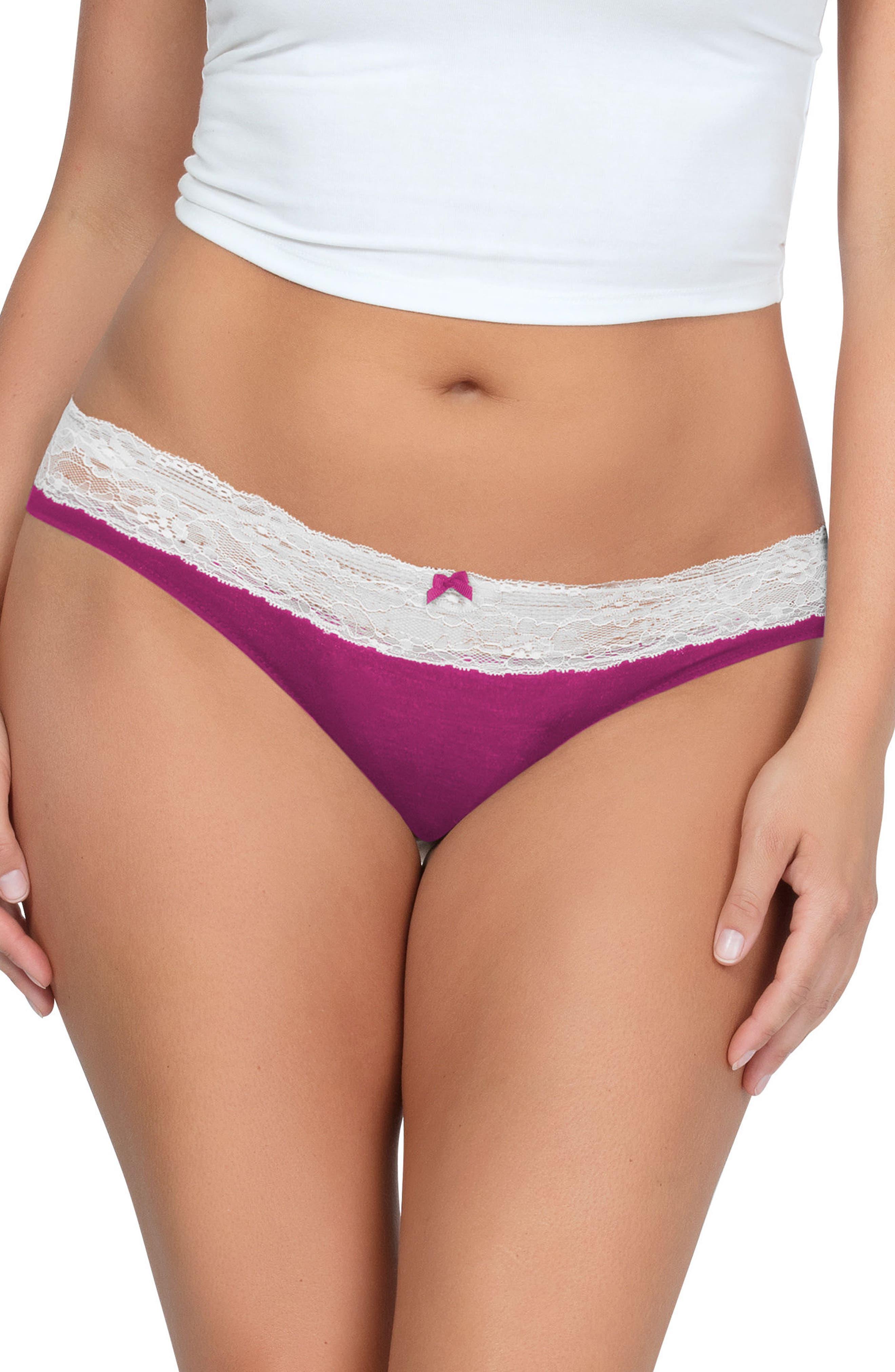 So Essential Bikini,                             Main thumbnail 1, color,                             Wild Pink