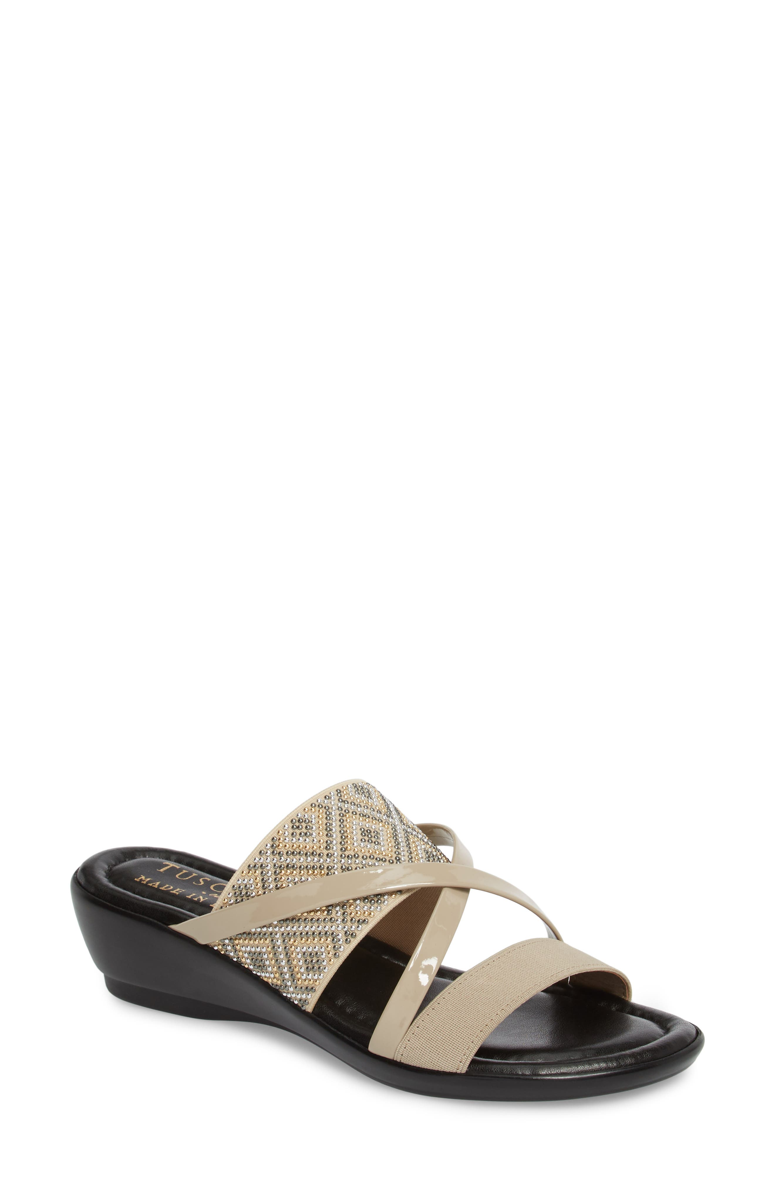 TUSCANY by Easy Street® Palazzo Sandal (Women)