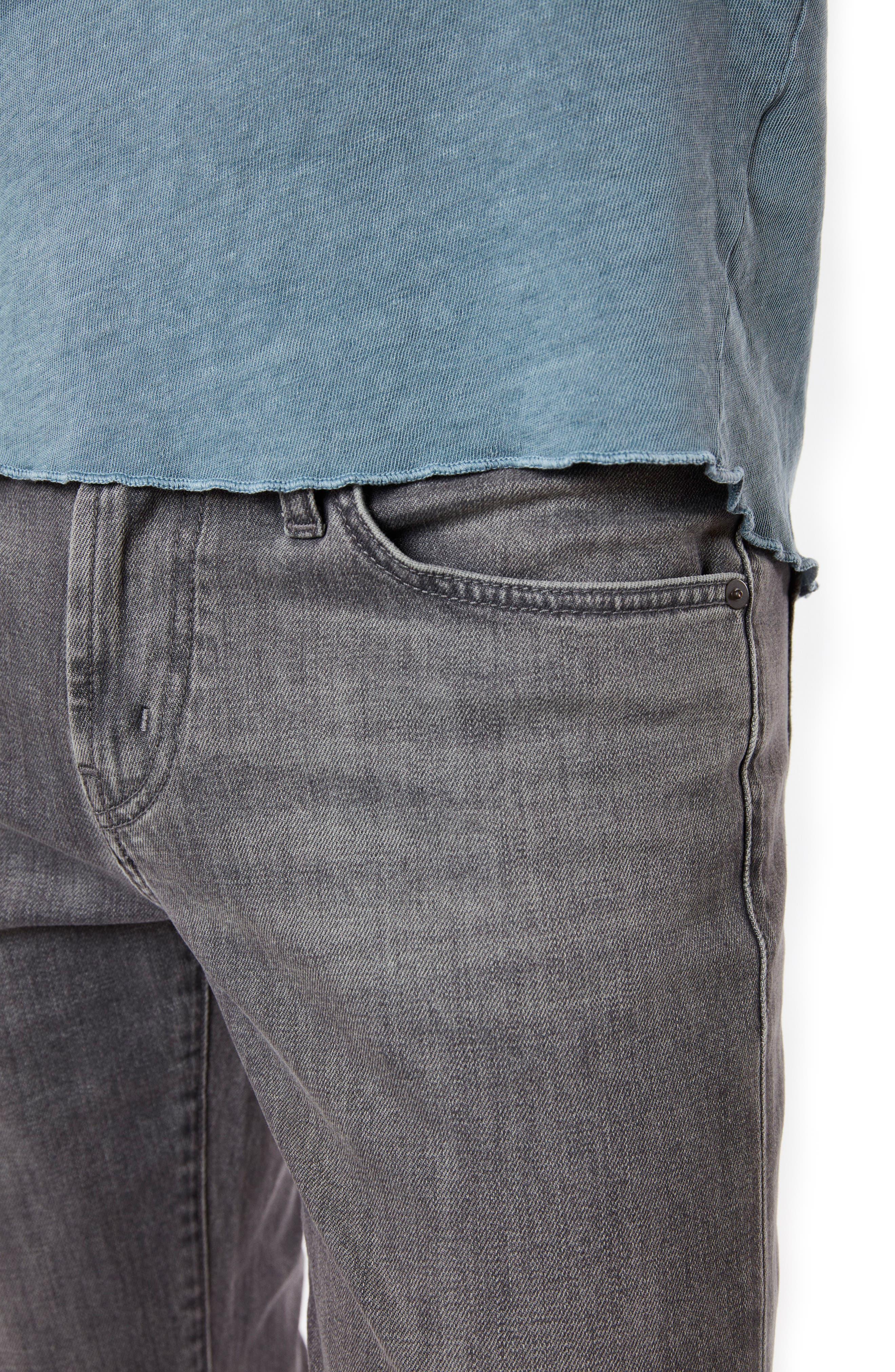 Tyler Slim Fit Jeans,                             Alternate thumbnail 4, color,                             Tributary