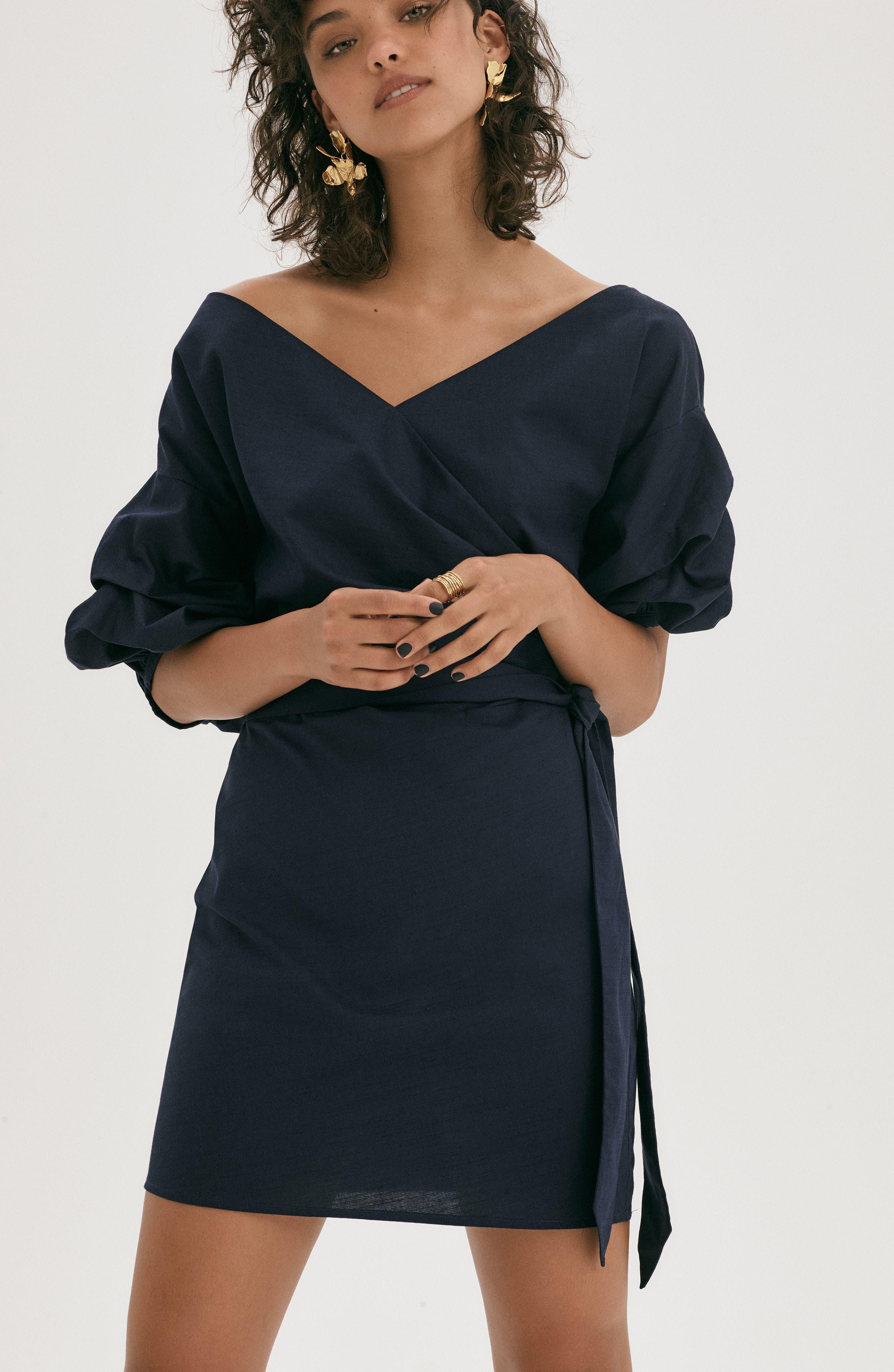 Alternate Image 3  - Chelsea28 Billow Sleeve Dress