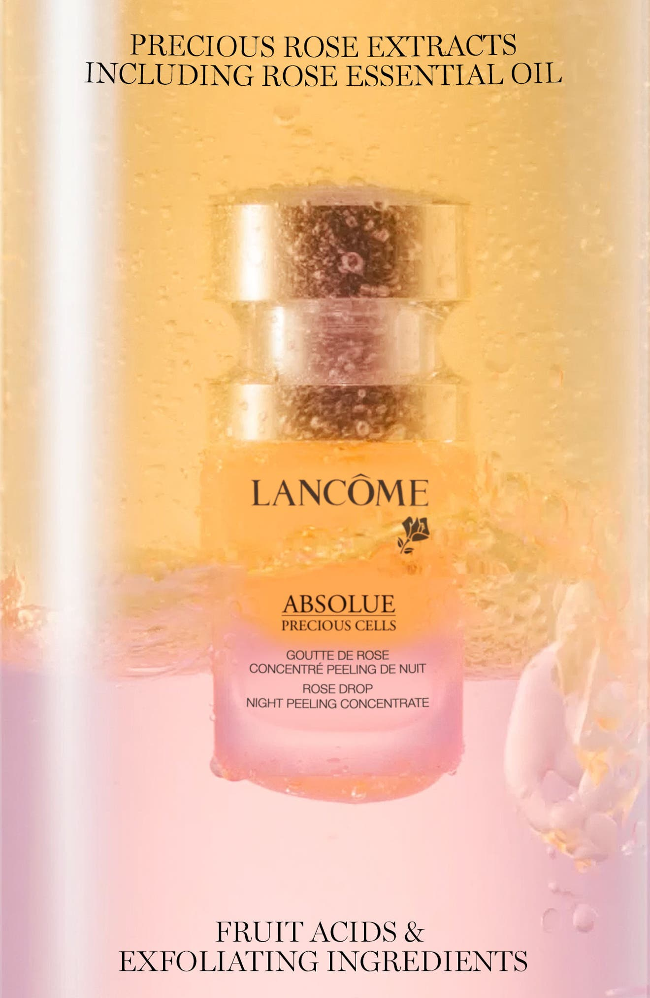 Absolue Precious Cells Rose Drop Night Peeling Concentrate,                             Alternate thumbnail 2, color,                             No Color