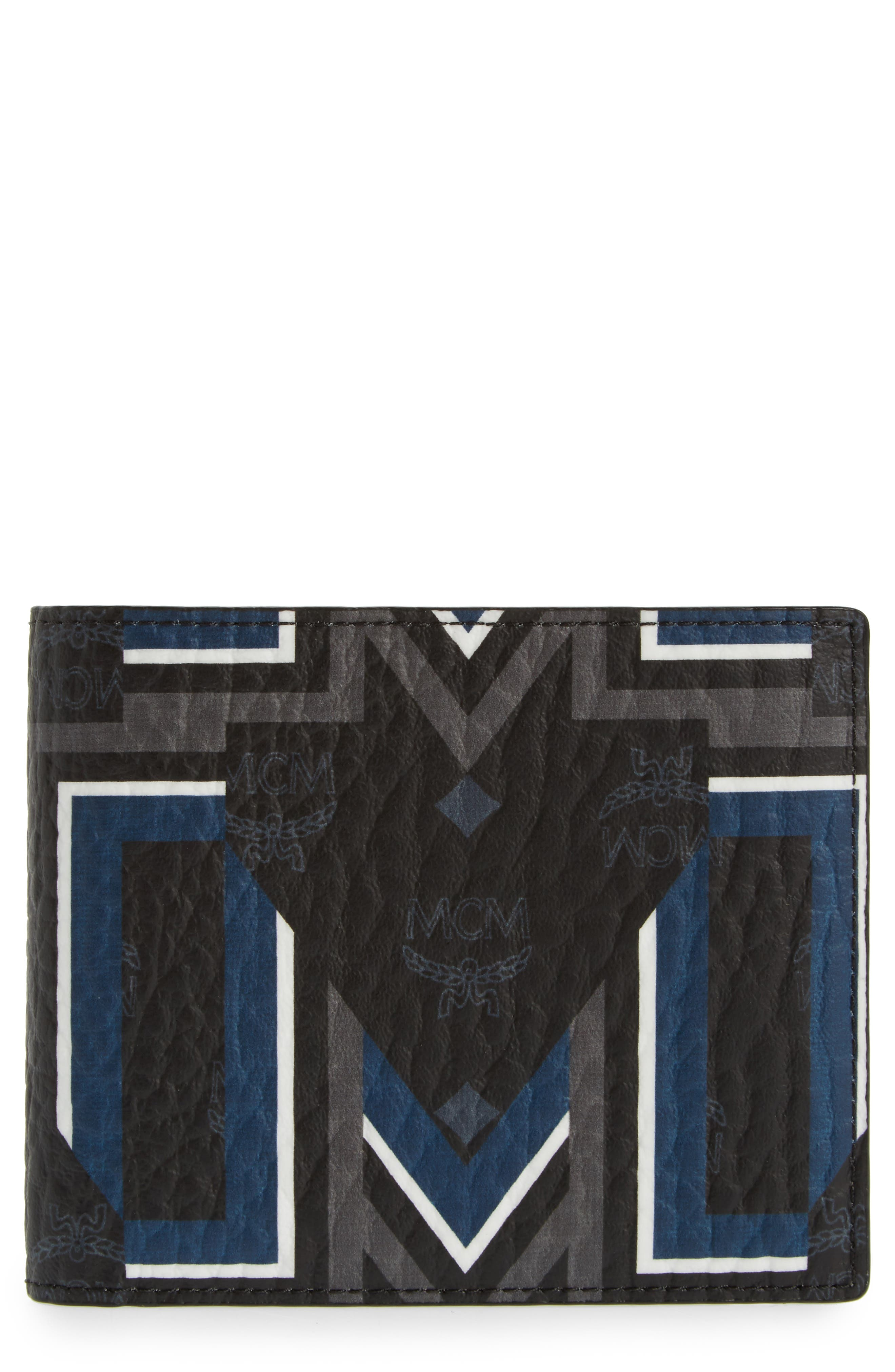 Stark Gunta Wallet,                             Main thumbnail 1, color,                             Black