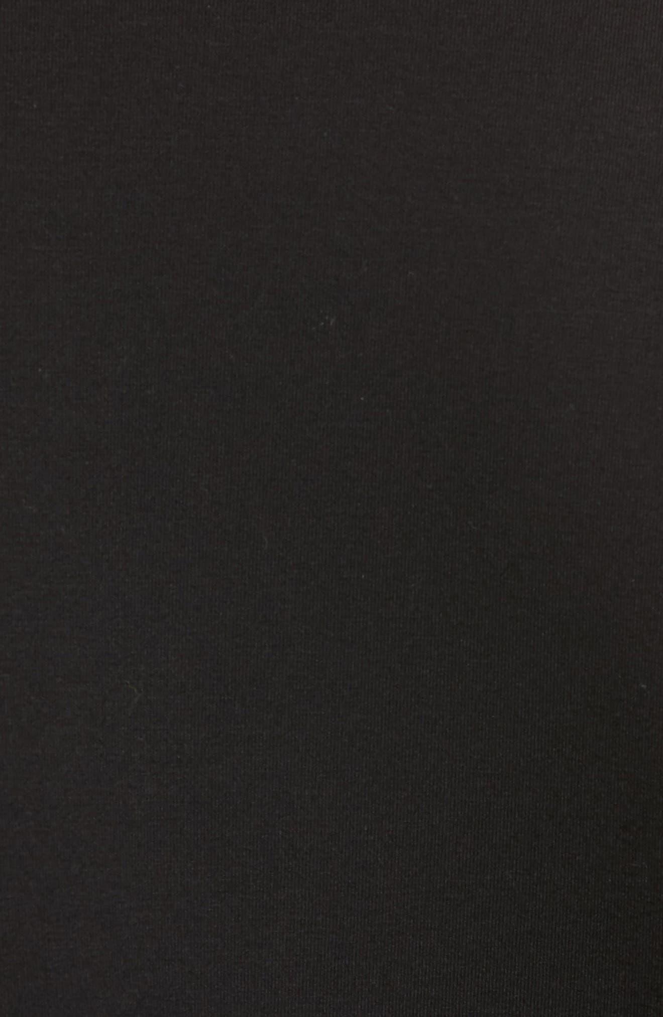 Slim Fit Tech Jacket,                             Alternate thumbnail 5, color,                             Black