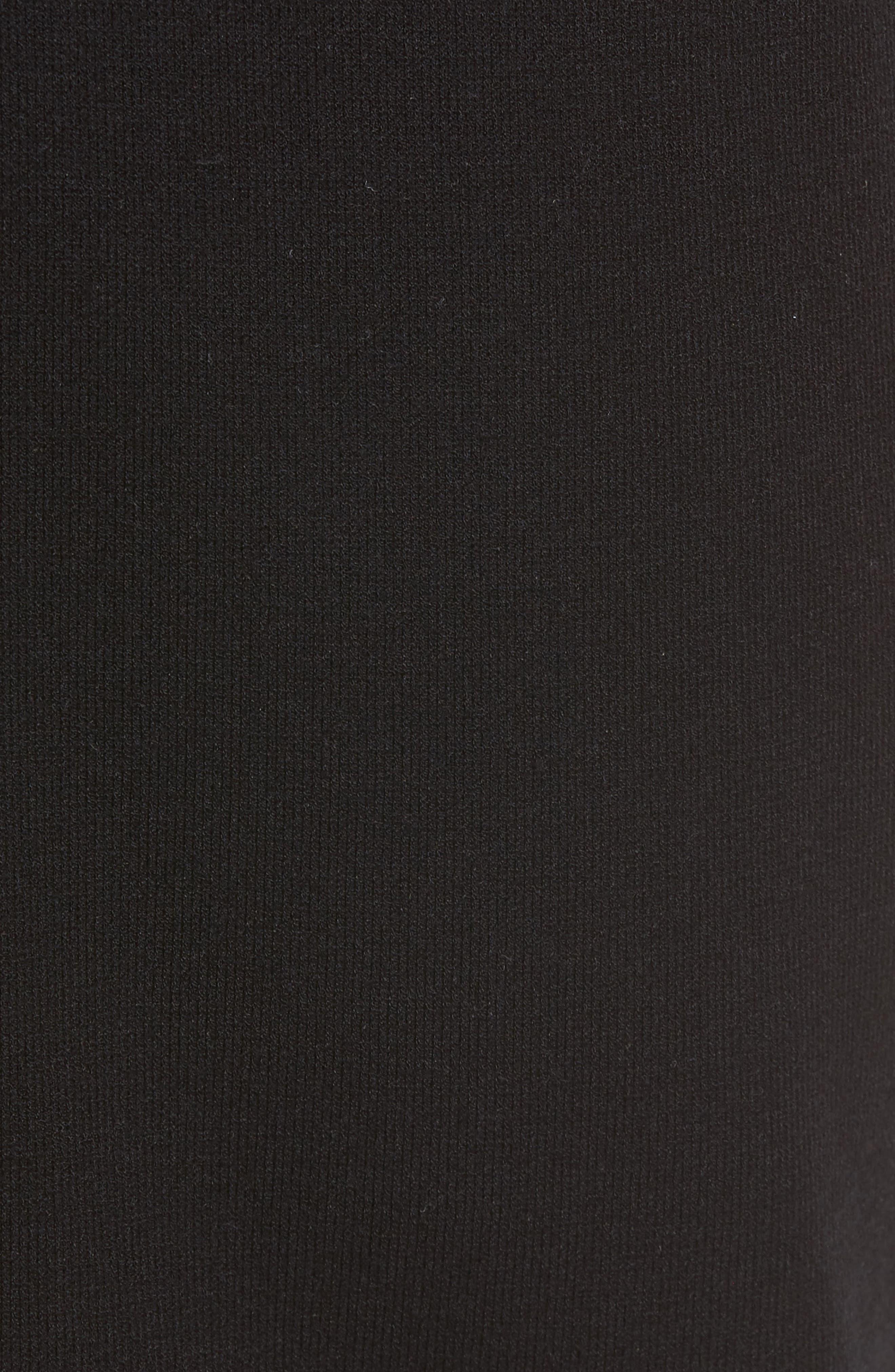 Slim Fit Jogger Pants,                             Alternate thumbnail 5, color,                             Black