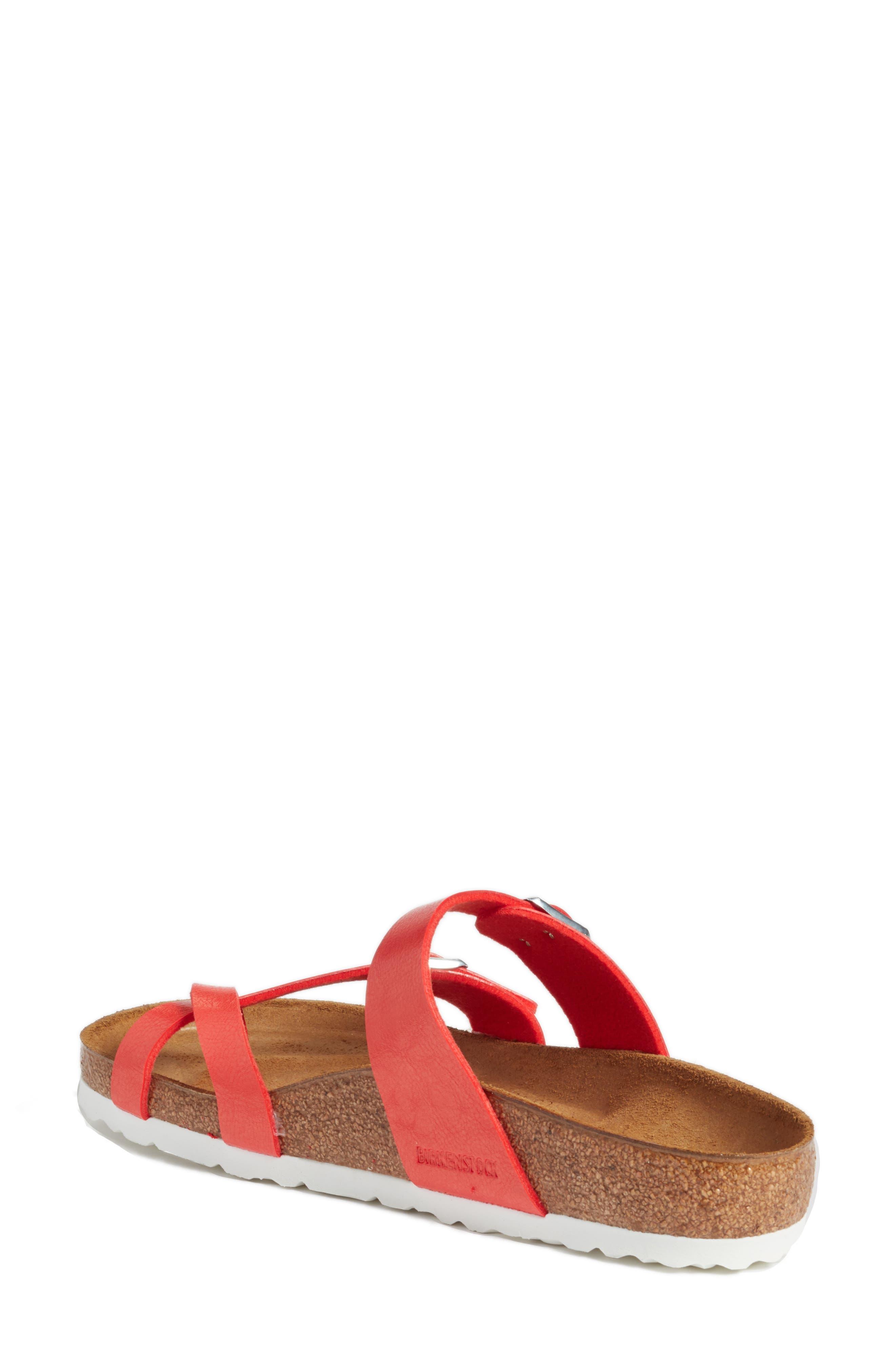 'Mayari' Birko-Flor<sup>™</sup> Sandal,                             Alternate thumbnail 2, color,                             Graceful Hibiscus Leather