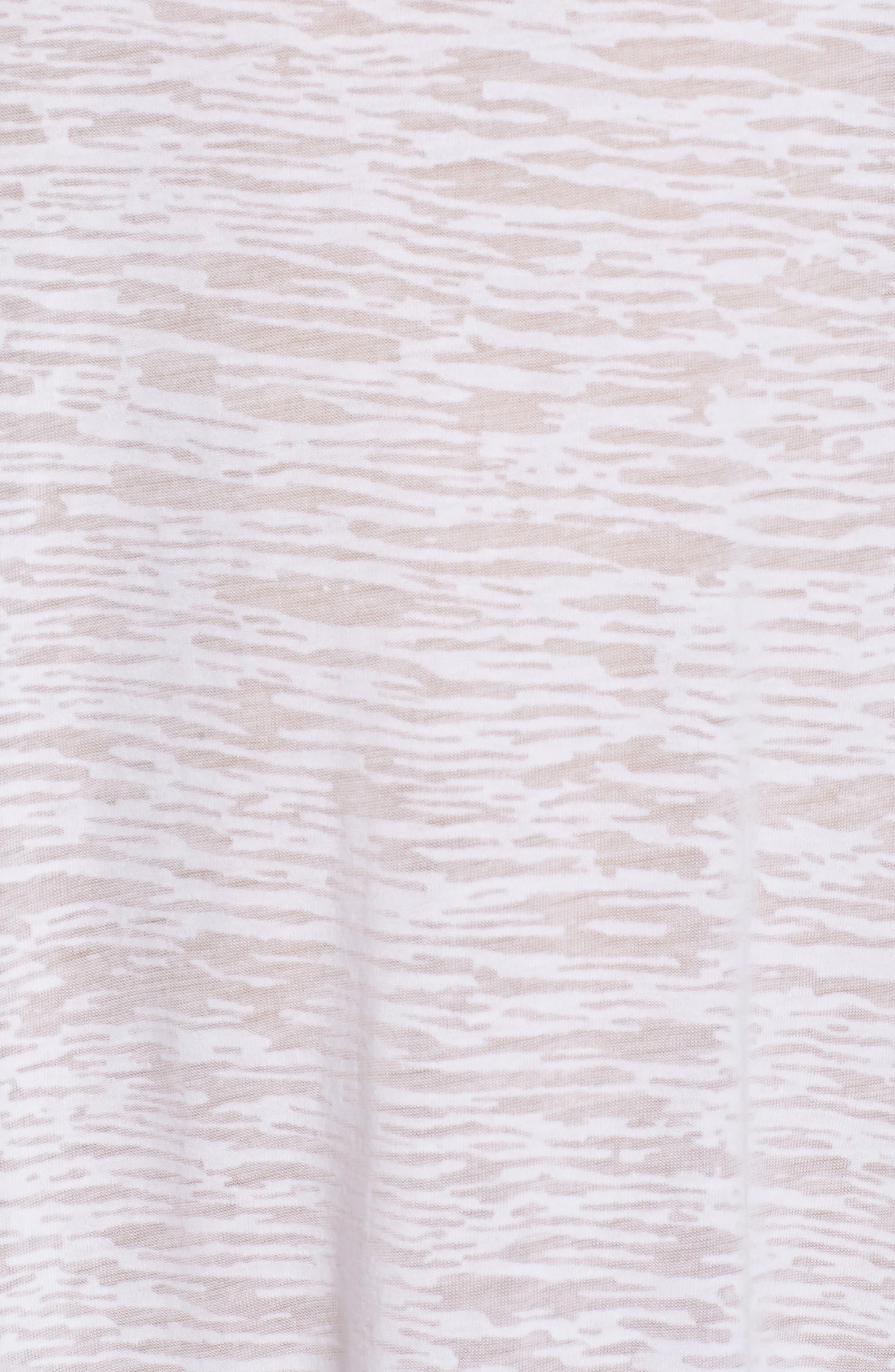 Tassel Slit Cover-Up Maxi Dress,                             Alternate thumbnail 6, color,                             White