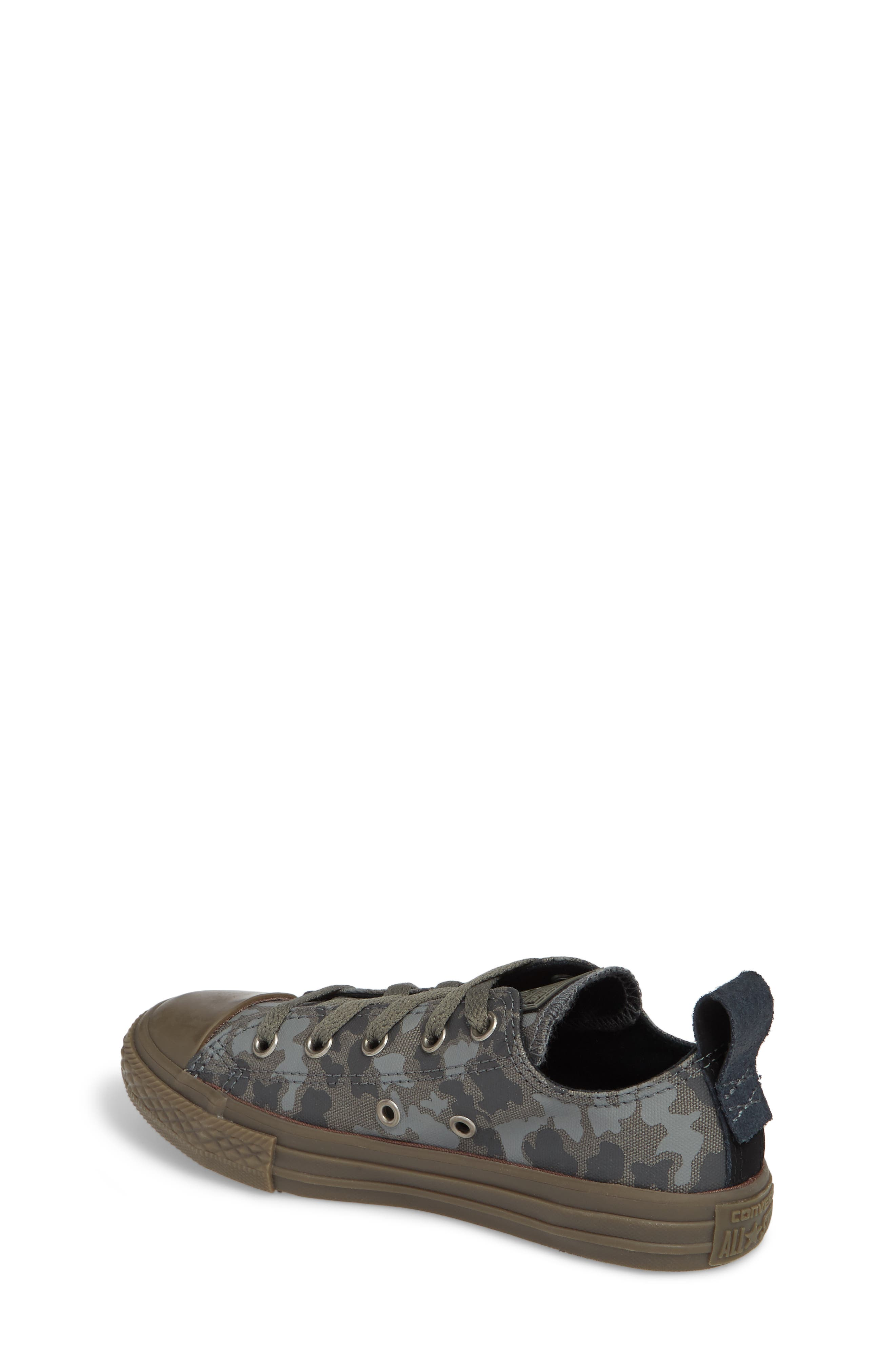 Chuck Taylor<sup>®</sup> All Star<sup>®</sup> Camo Ox Low Top Sneaker,                             Alternate thumbnail 2, color,                             Mason