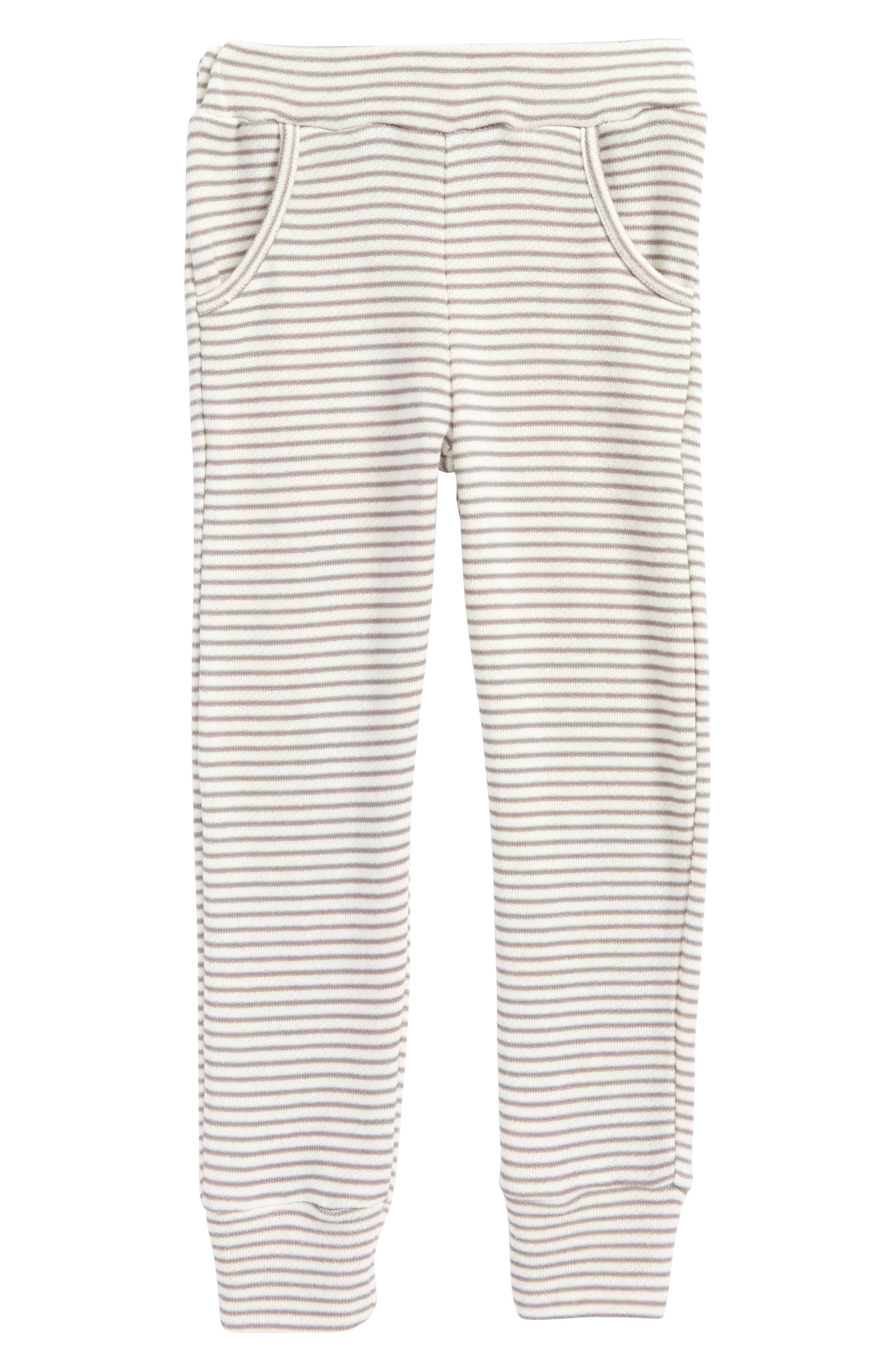 Shore Ahoy! French Terry Pants,                         Main,                         color, Grey - Gry
