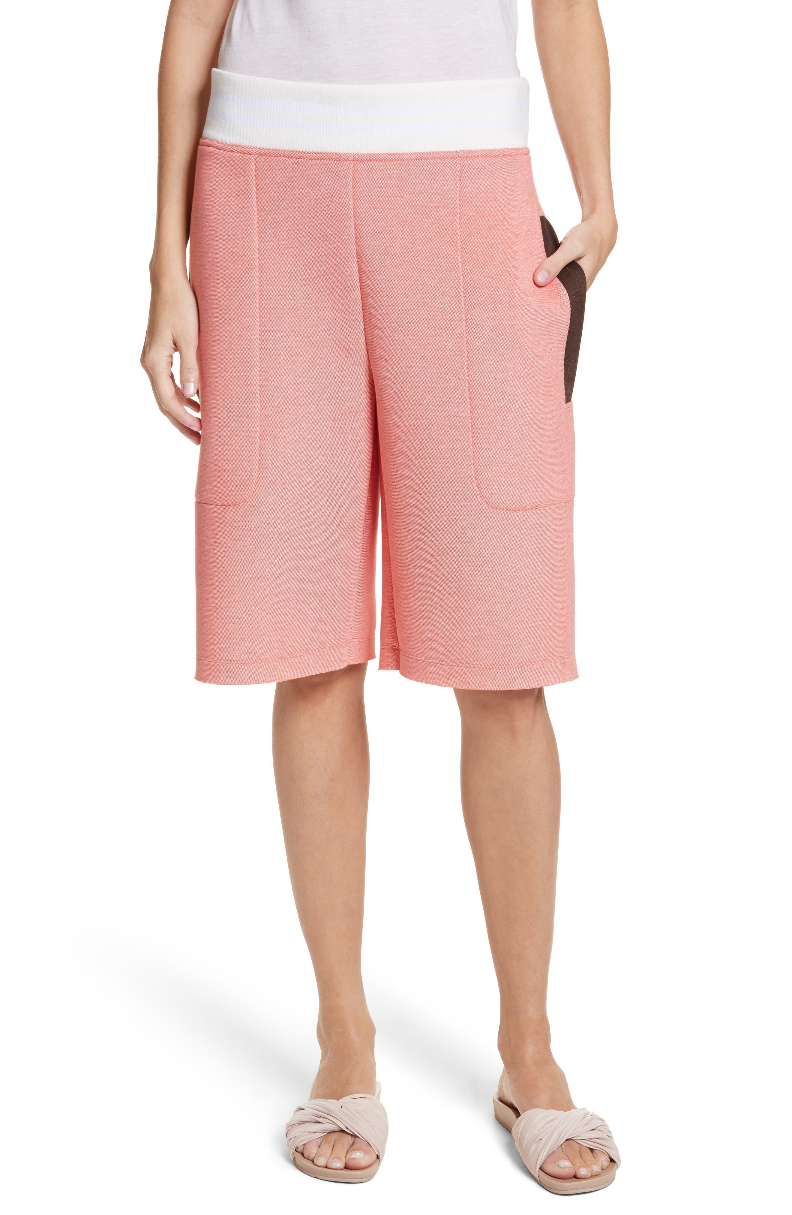 Tech Shorts,                             Main thumbnail 1, color,                             Coral