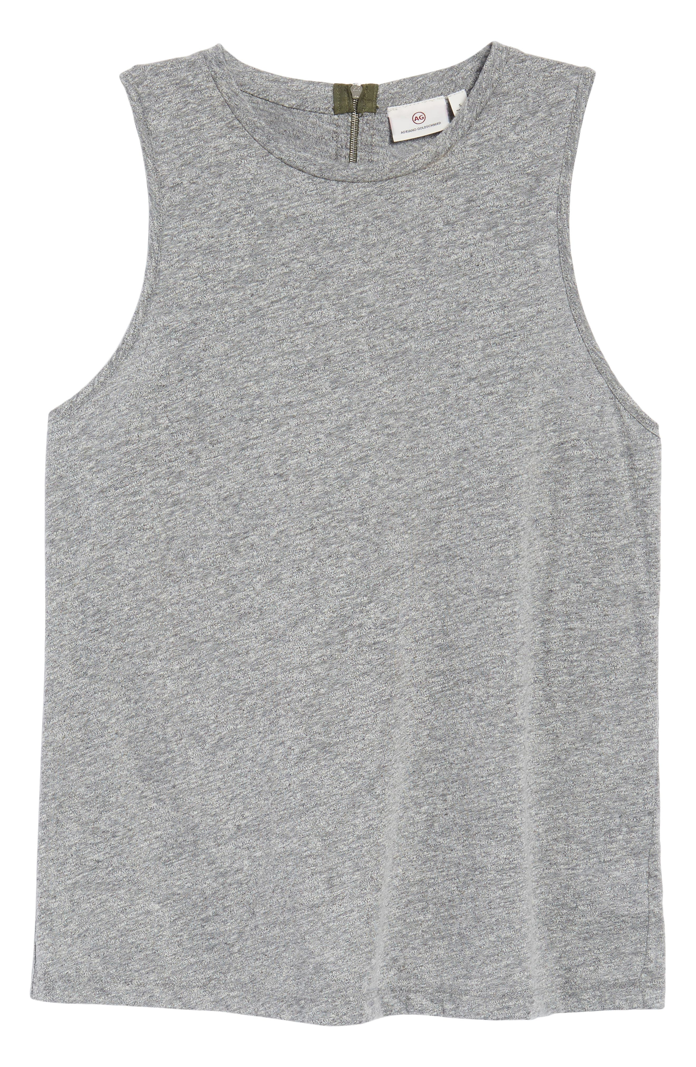 Serena Tank,                             Alternate thumbnail 6, color,                             Speckled Heather Gray