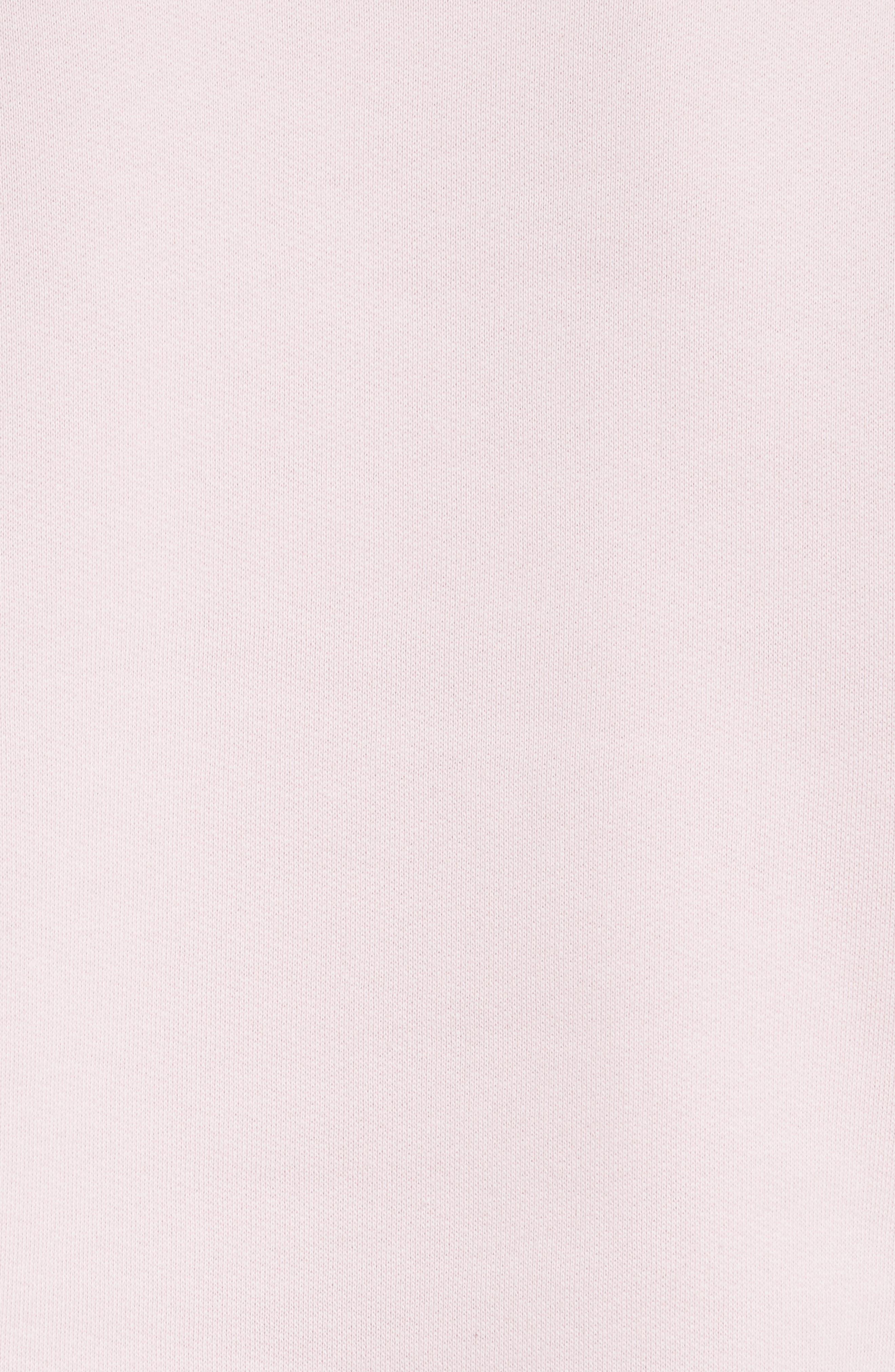 être cécile Déjà Dudé Boyfriend Sweatshirt,                             Alternate thumbnail 5, color,                             Chalk Pink