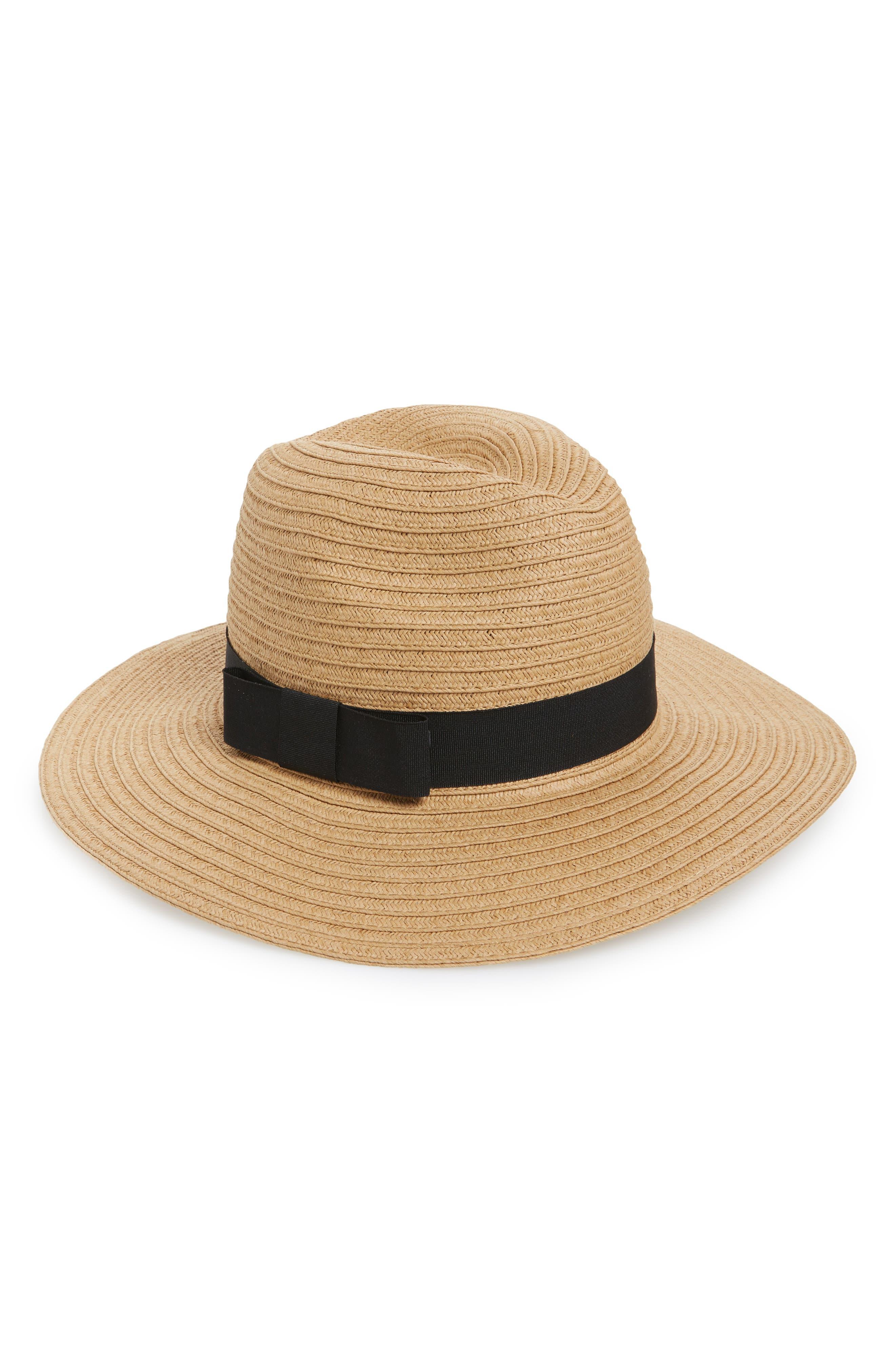 Panama Hat,                             Main thumbnail 1, color,                             Tobacco