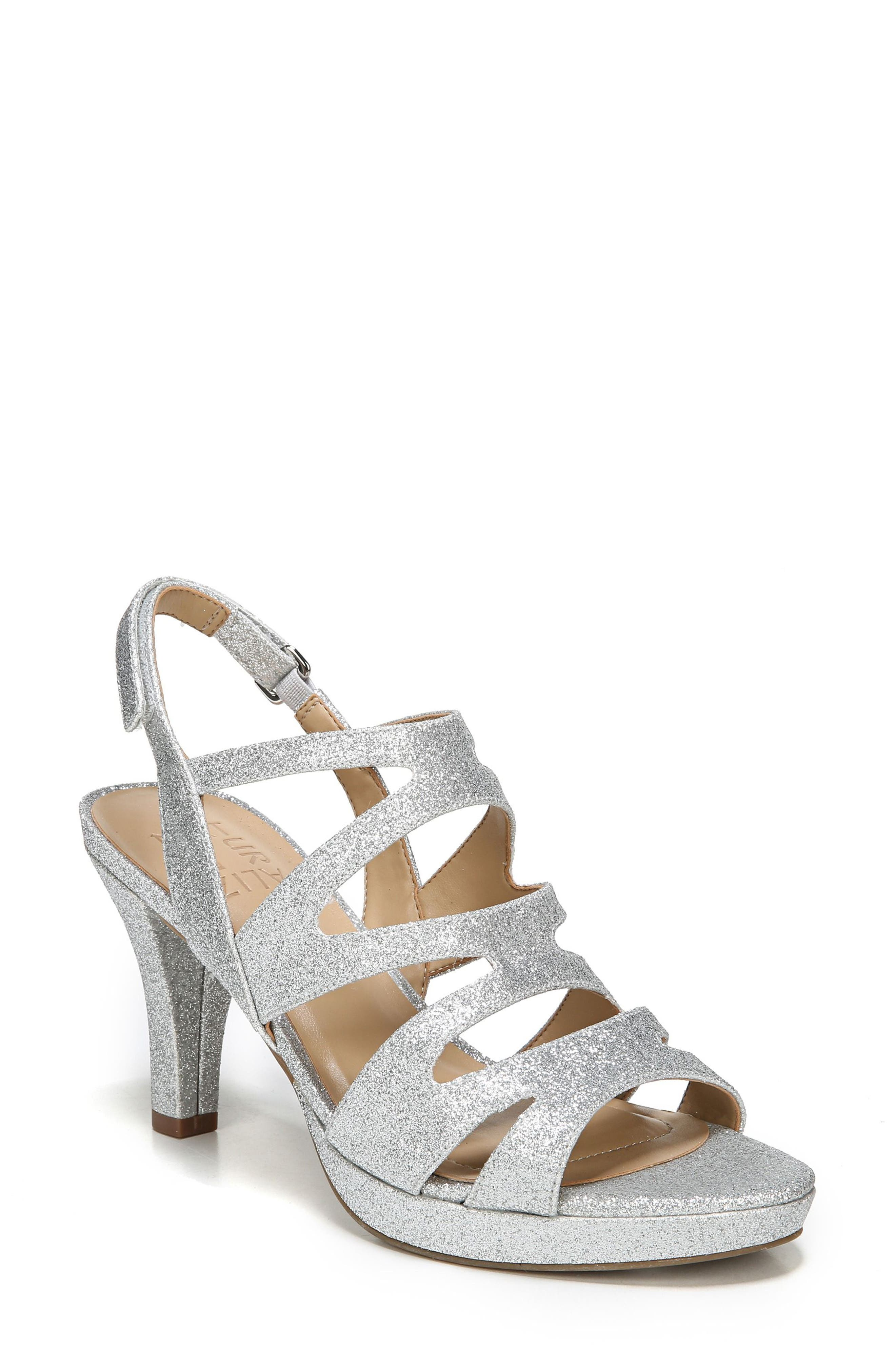 Alternate Image 1 Selected - Naturalizer 'Pressley' Slingback Platform Sandal (Women)