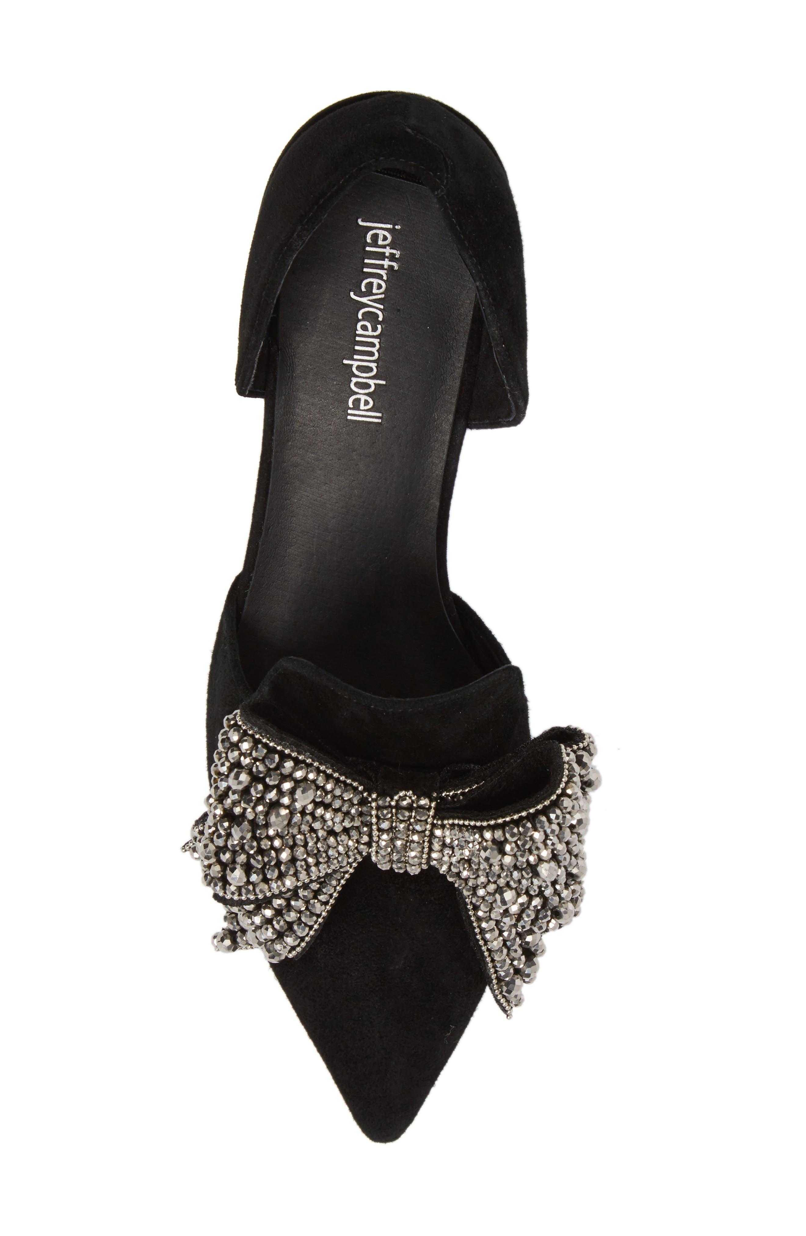Alternate Image 5  - Jeffrey Campbell Valenti Embellished Bow Loafer (Women)