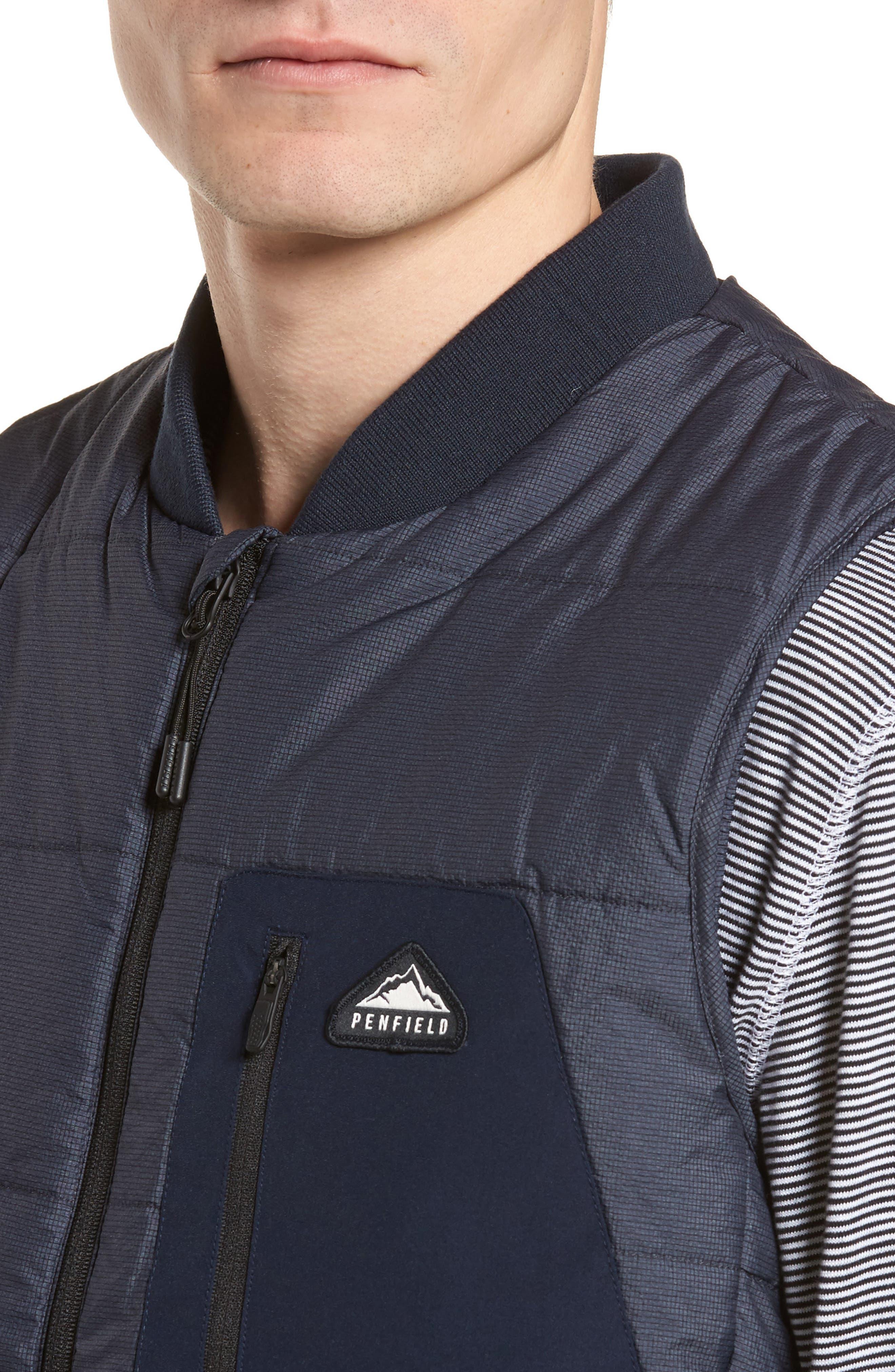 Foley Vest,                             Alternate thumbnail 4, color,                             Navy