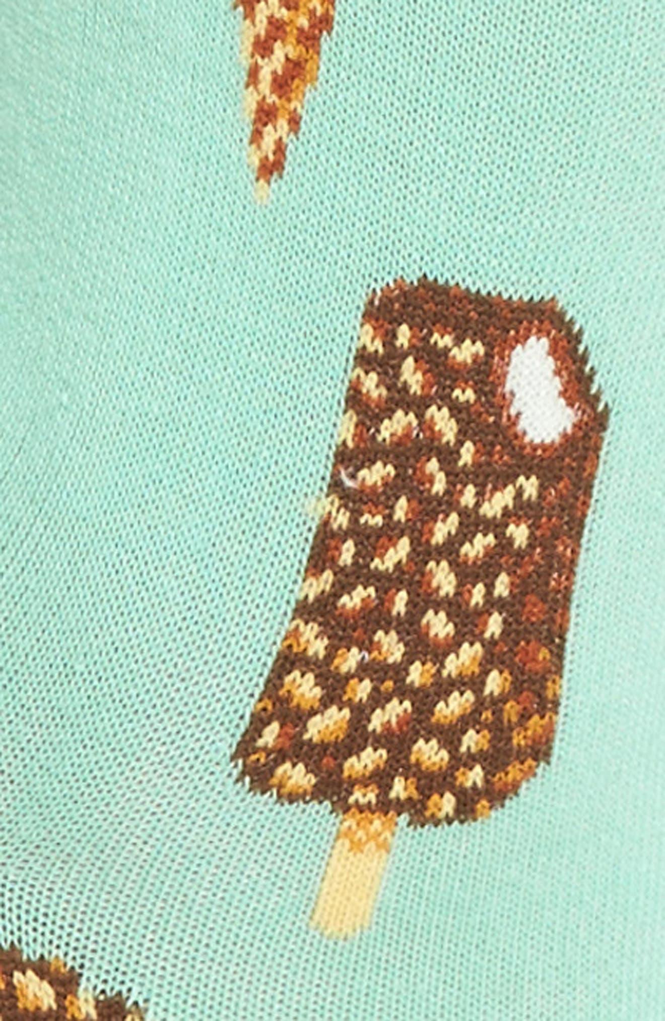 Ice Cream Crew Socks,                             Alternate thumbnail 2, color,                             Jade