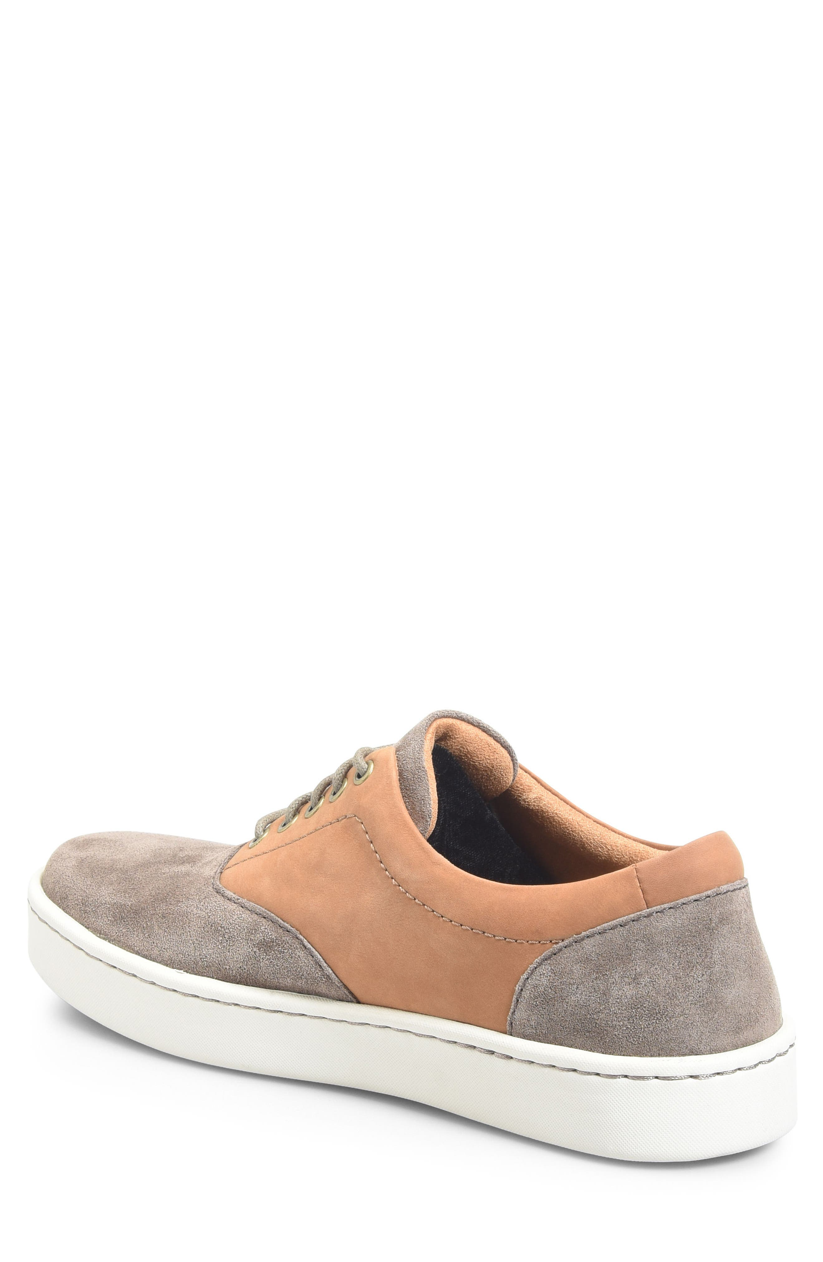 Keystone Low Top Sneaker,                             Alternate thumbnail 2, color,                             Taupe Leather