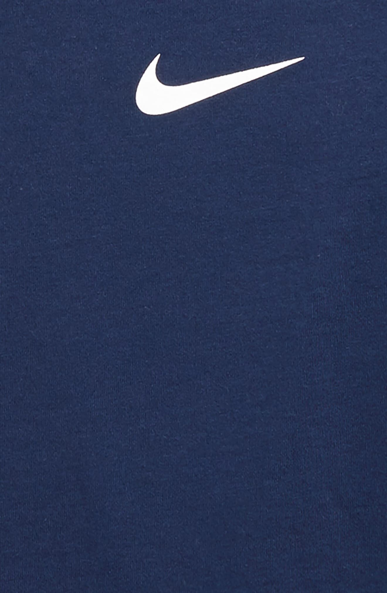 Dry Elite Long Sleeve T-Shirt,                             Alternate thumbnail 2, color,                             Midnight Navy