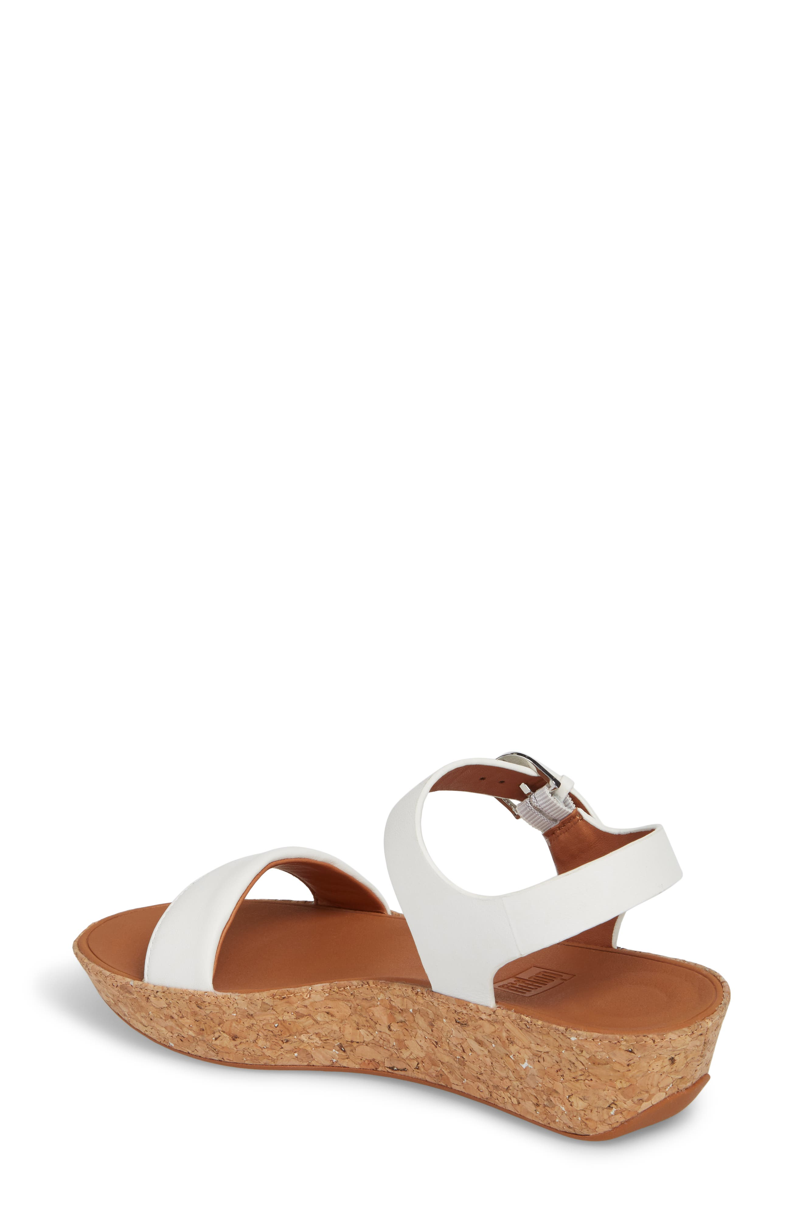 Bon II Platform Sandal,                             Alternate thumbnail 2, color,                             Urban White Leather