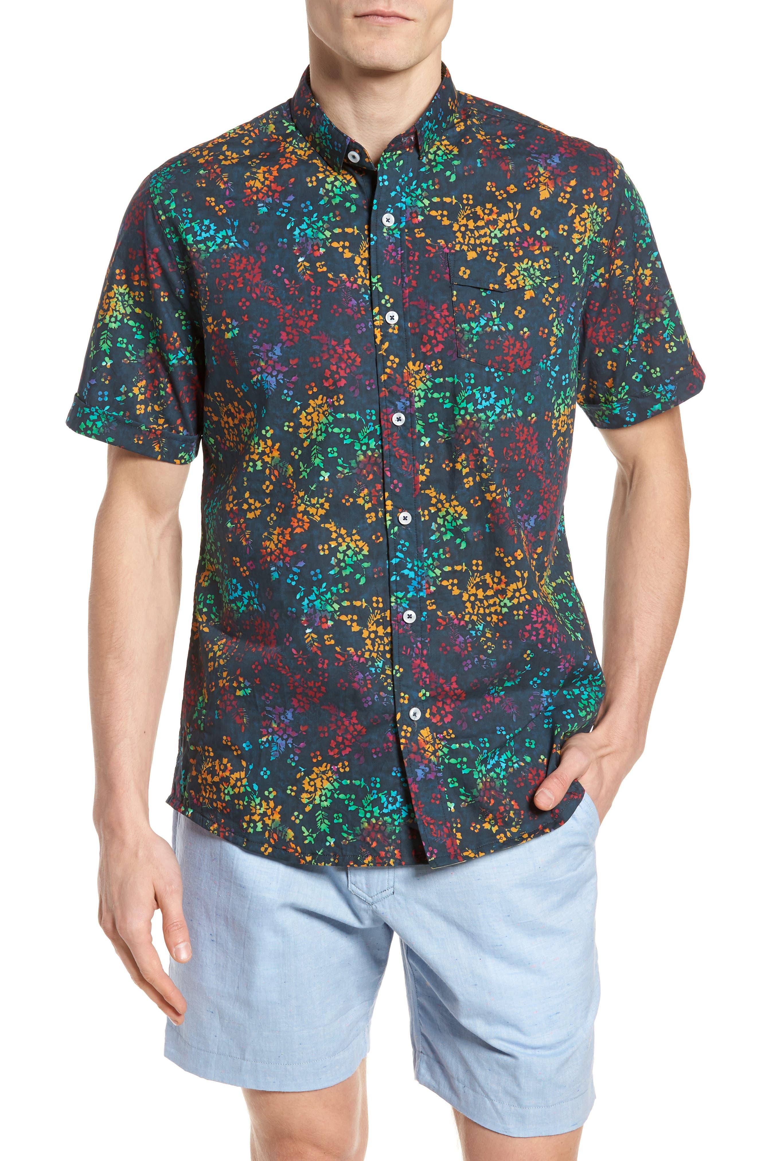 Descendant of Thieves Explorer Print Woven Shirt