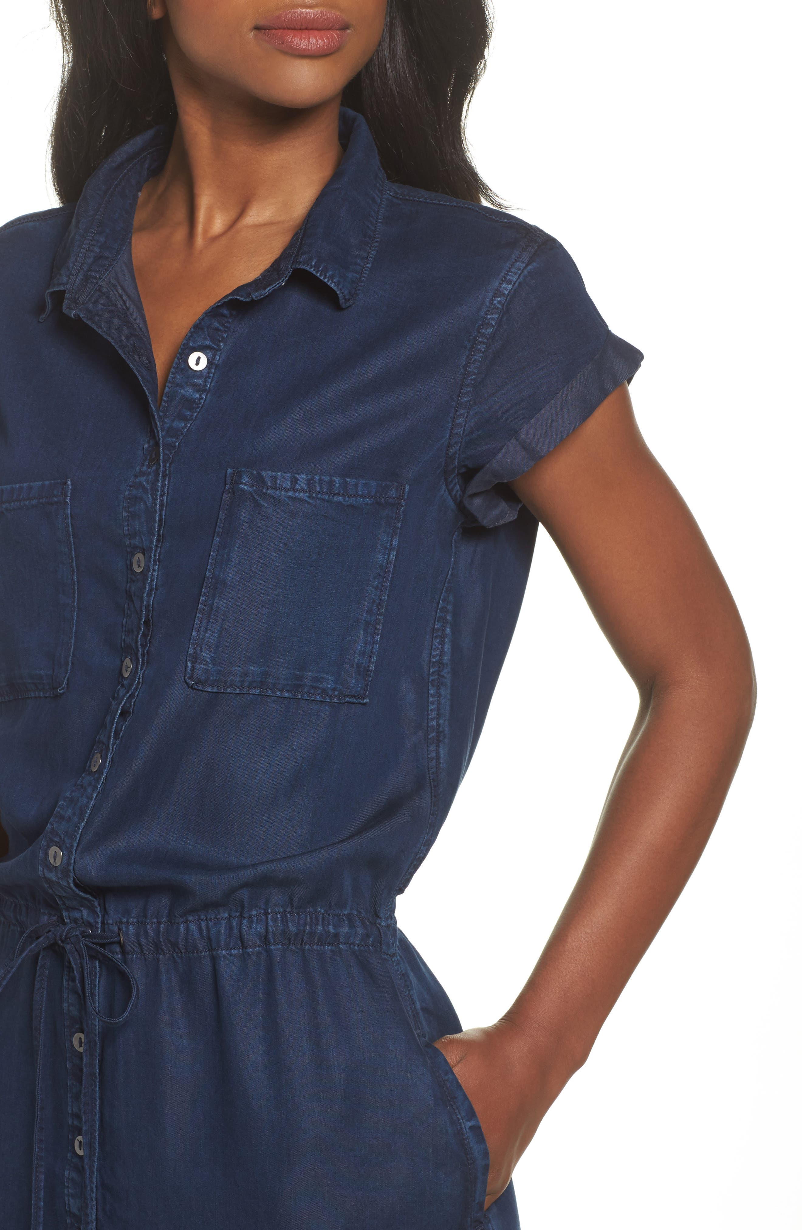 Alternate Image 4  - PAIGE Mila Shirtdress