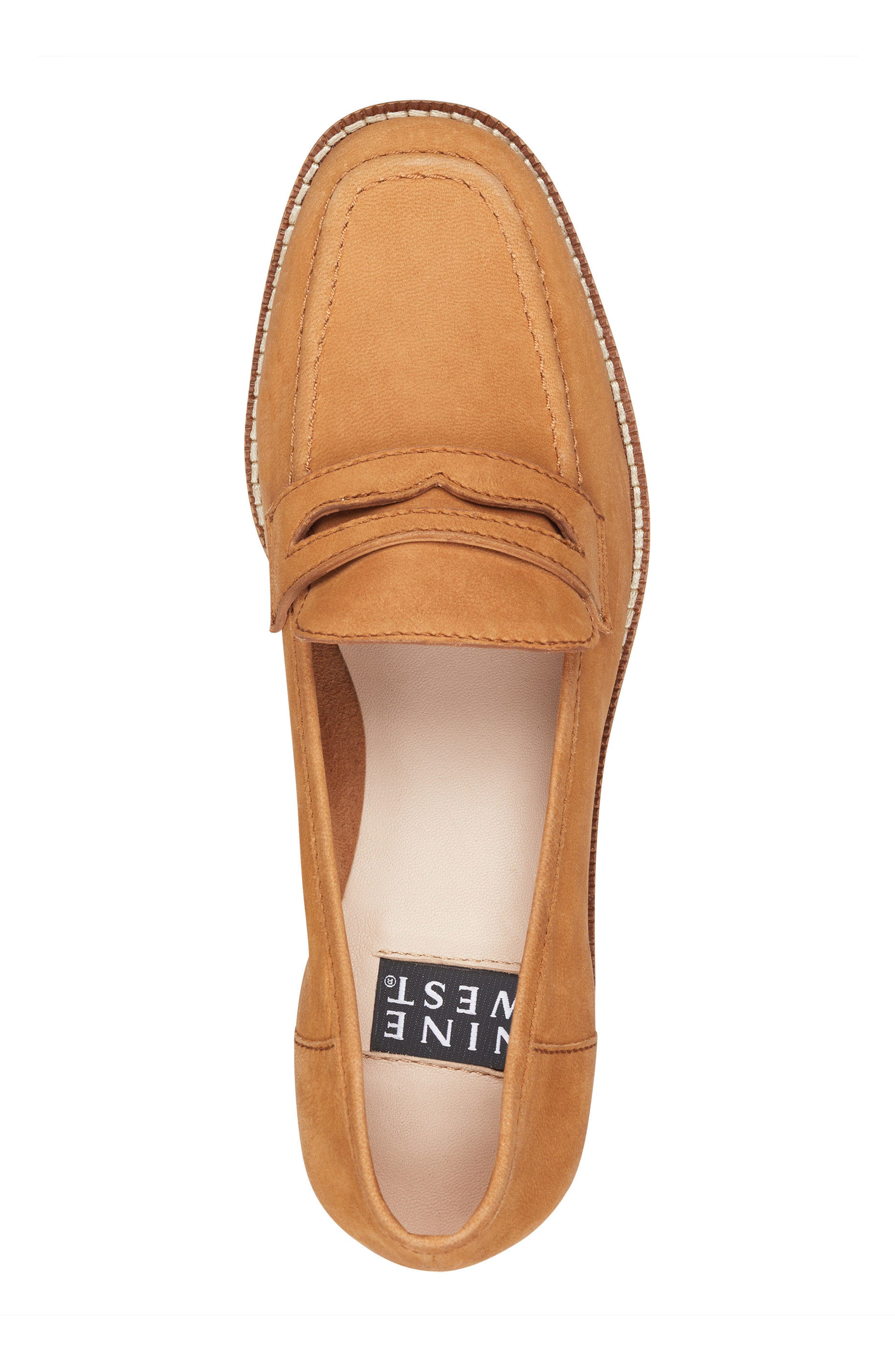 Kimmy - 40th Anniversary Capsule Collection Penny Loafer,                             Alternate thumbnail 5, color,                             Dark Natural Leather