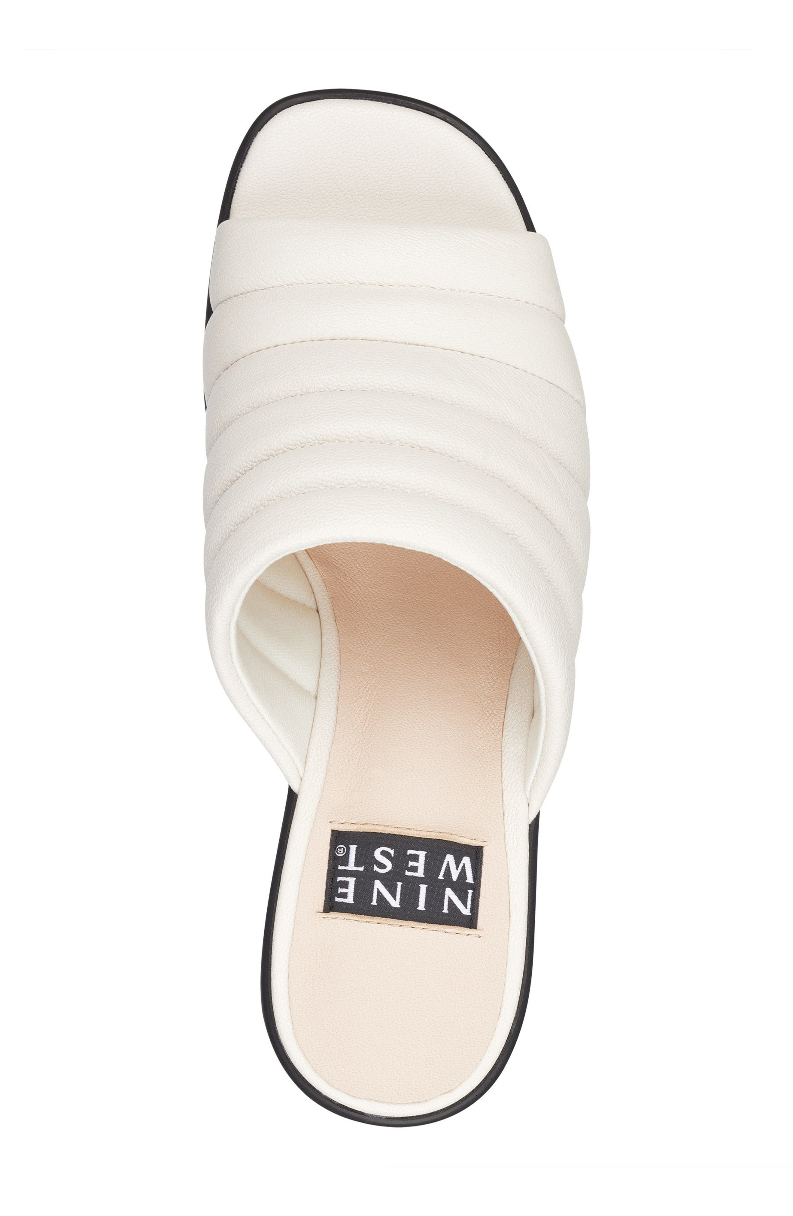 Millie - 40th Anniversary Capsule Collection Platform Wedge,                             Alternate thumbnail 5, color,                             Off White Leather
