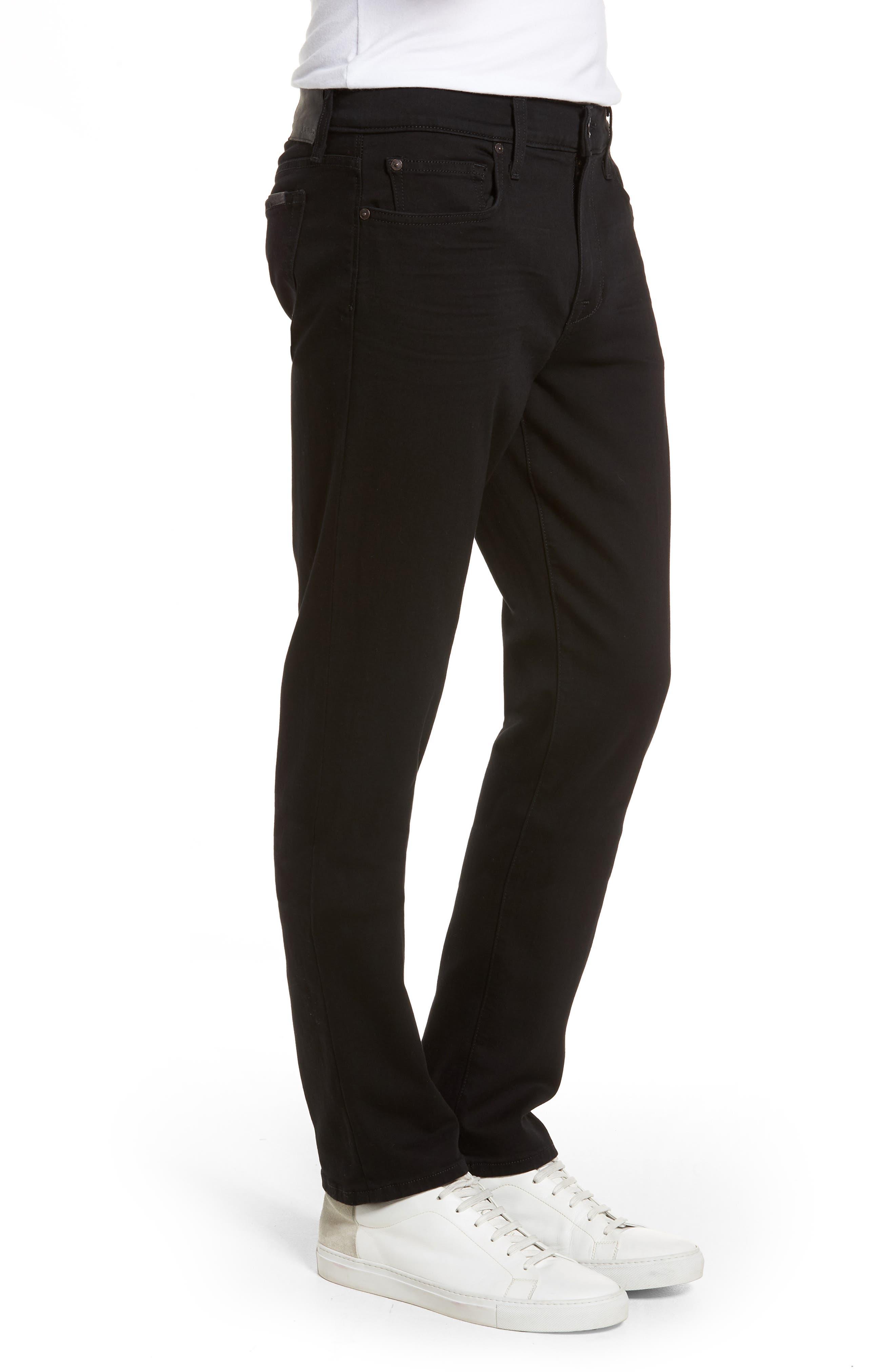 Brixton Slim Straight Fit Jeans,                             Alternate thumbnail 3, color,                             Abraham