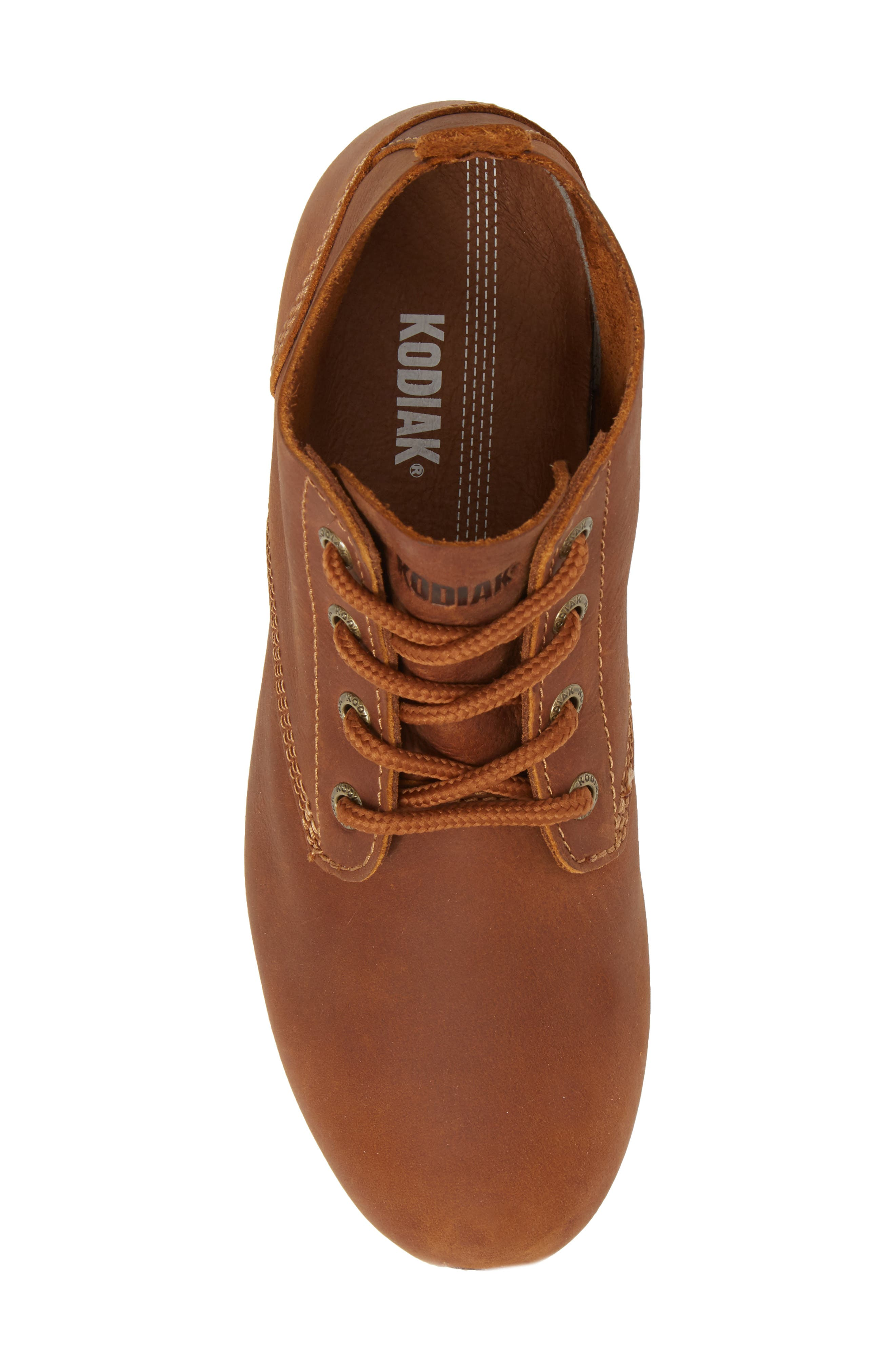 Chukka Boot,                             Alternate thumbnail 5, color,                             Peanut Leather