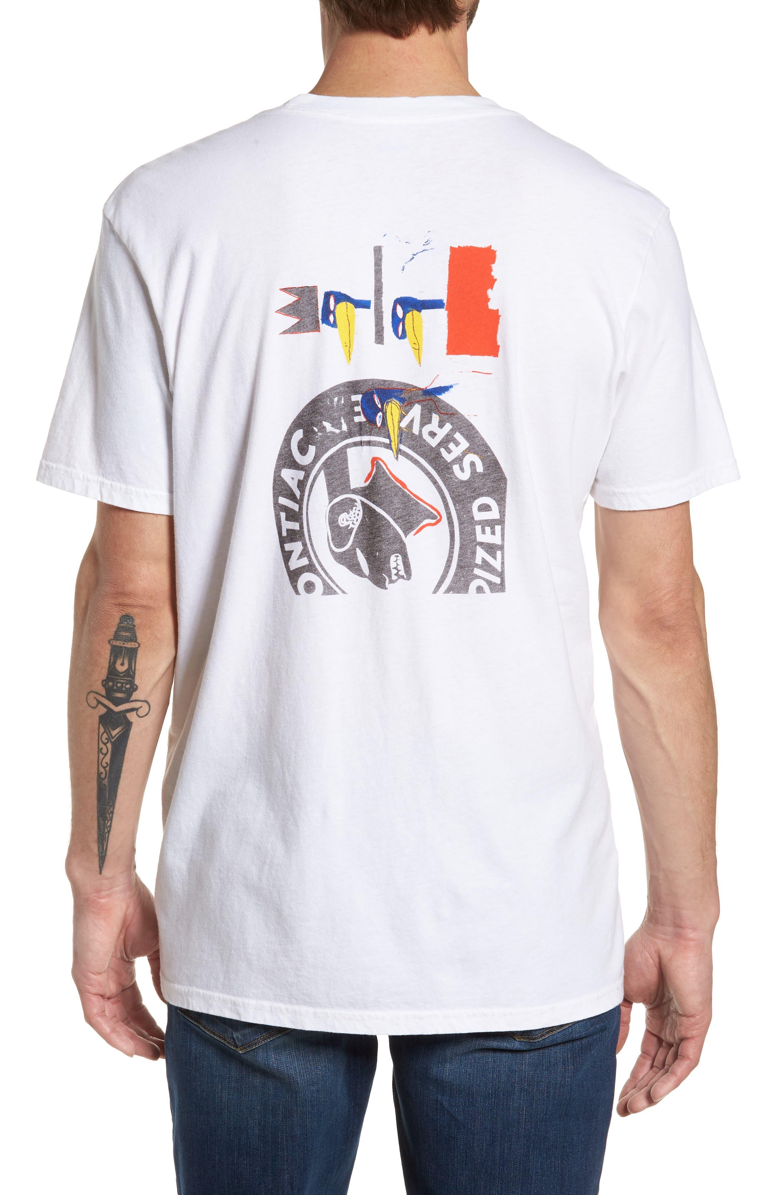 x Warhol Dos Cabezas T-Shirt,                             Alternate thumbnail 2, color,                             Vintage White