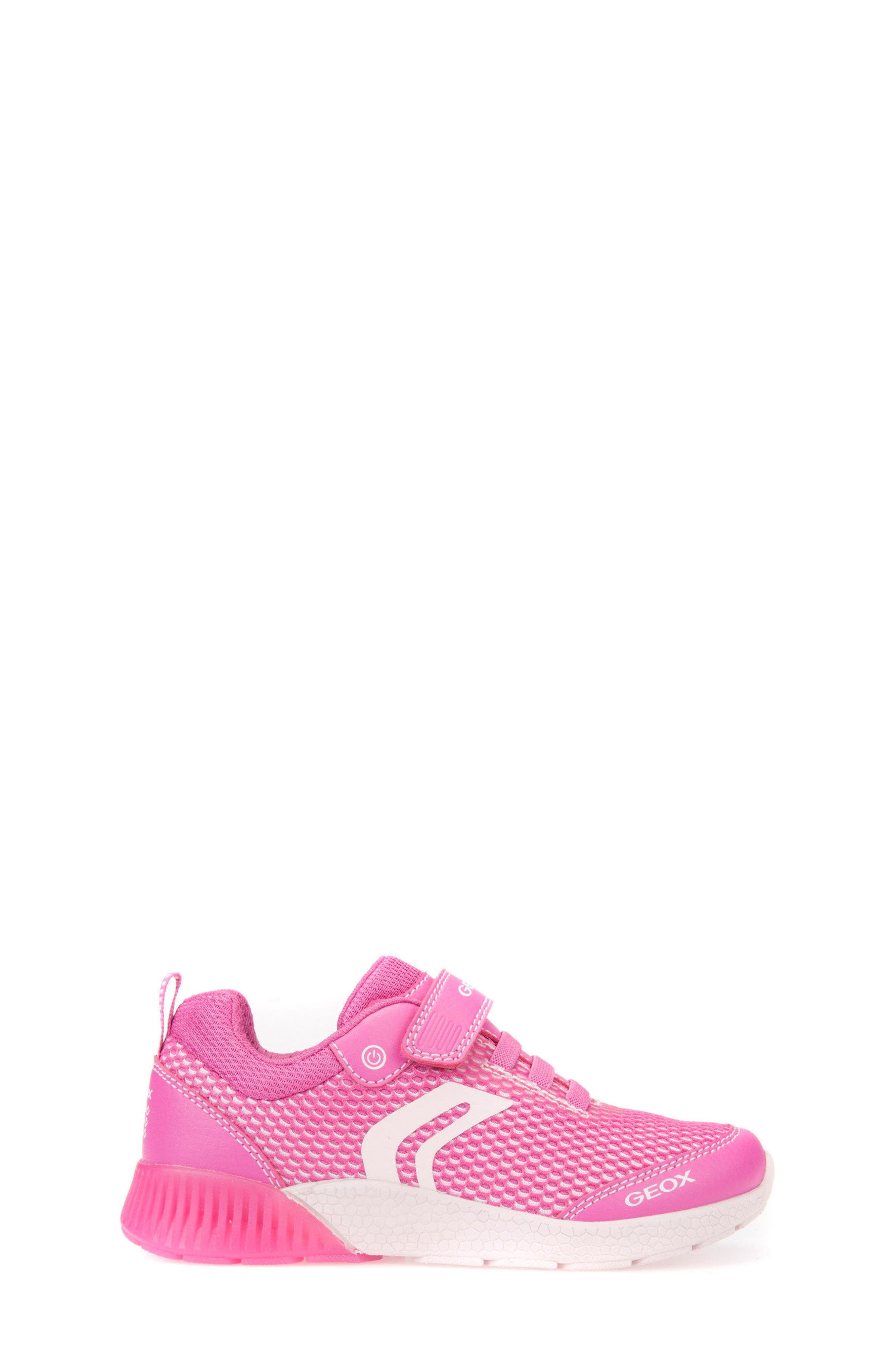 Sveth Light-Up Sneaker,                             Alternate thumbnail 3, color,                             Fuchsia