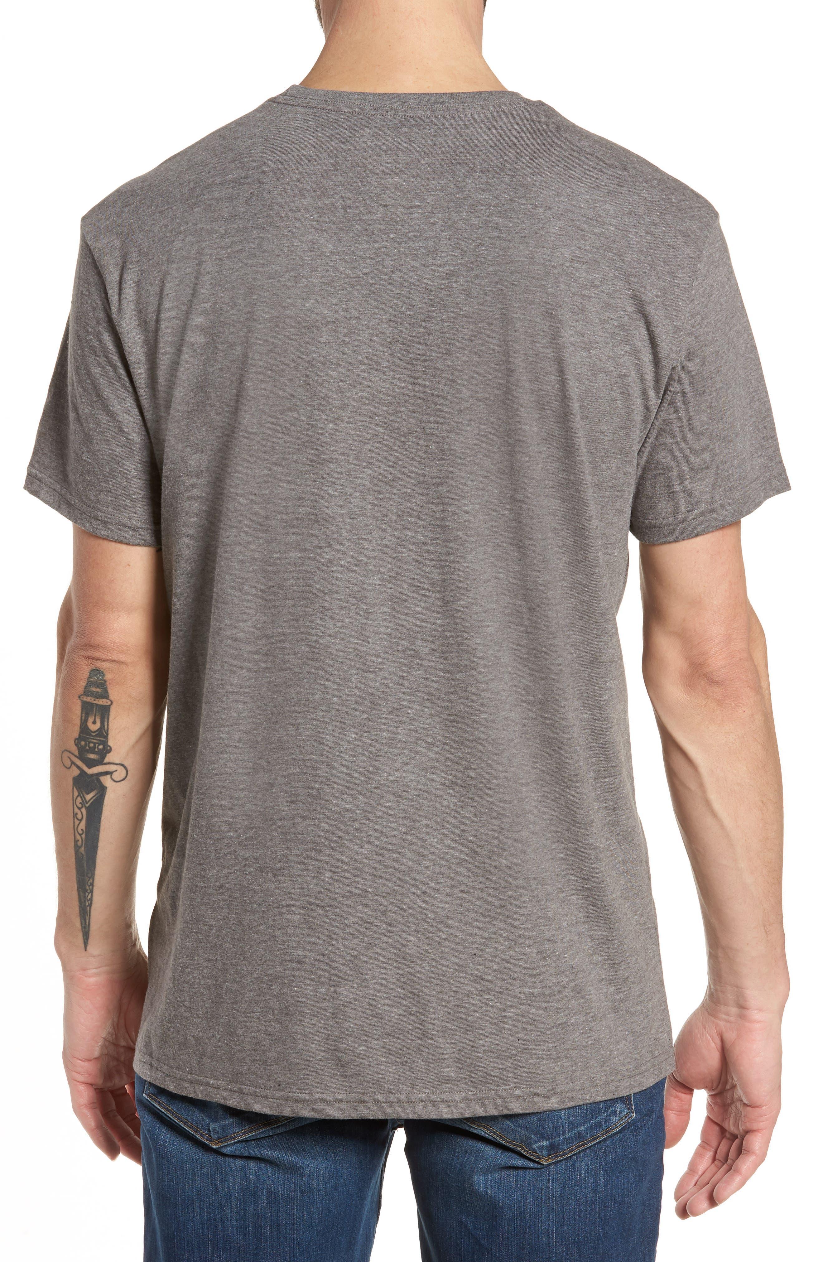 Inverse Graphic T-Shirt,                             Alternate thumbnail 2, color,                             Dark Grey Heather