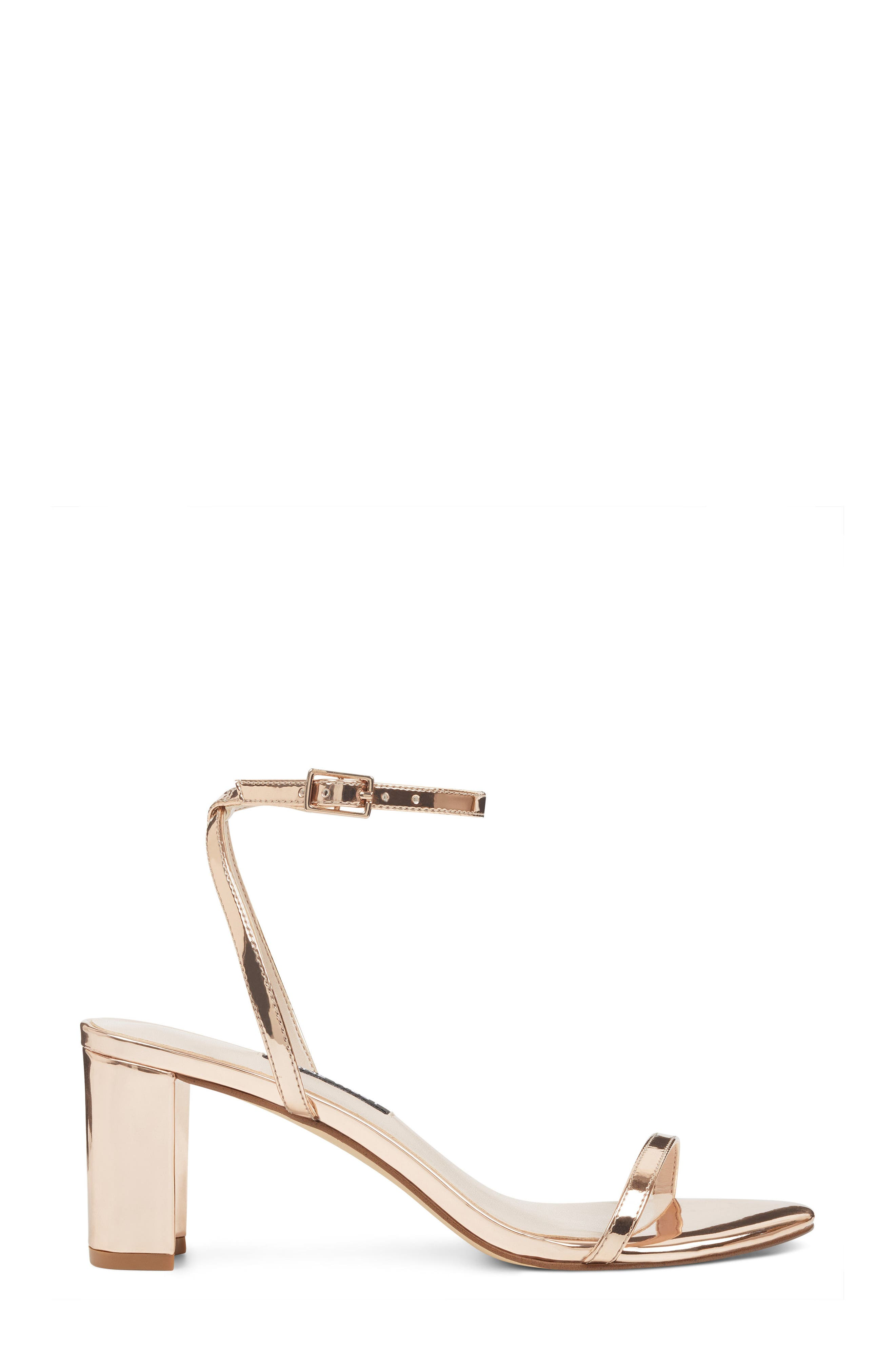 Provein Strappy Sandal,                             Alternate thumbnail 3, color,                             Pink Faux Leather