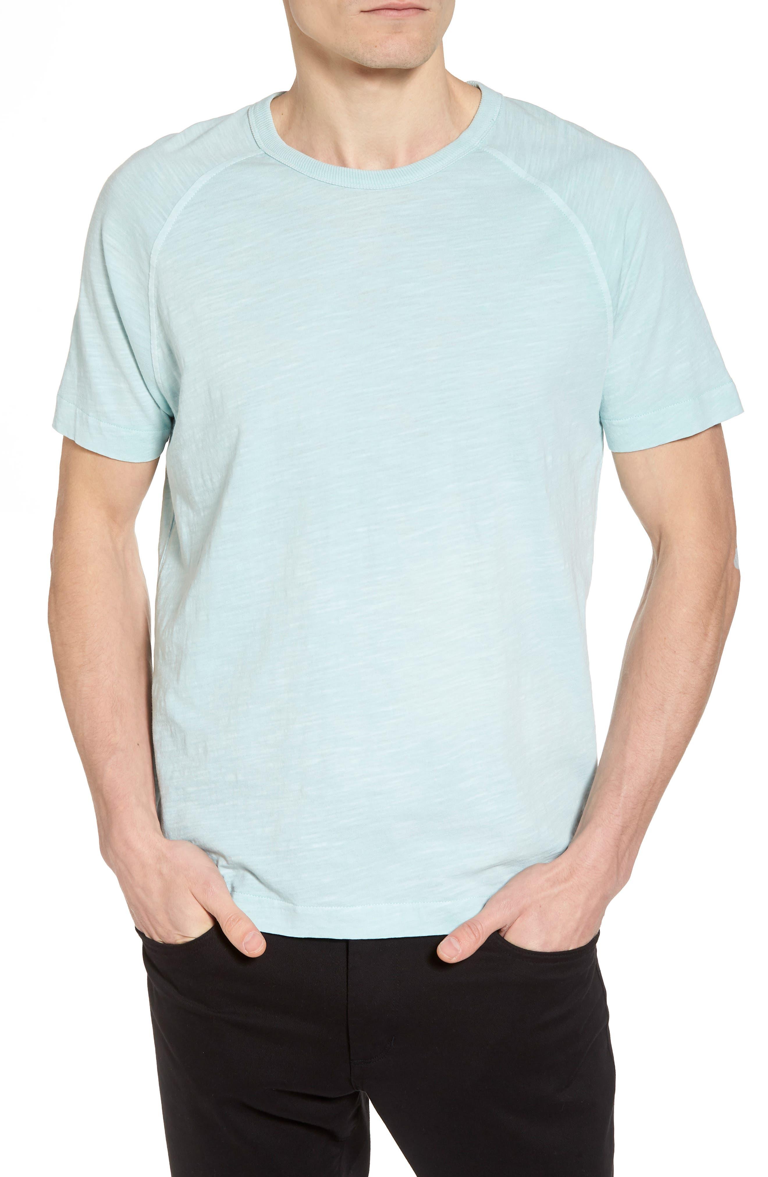 Television Raglan T-Shirt,                             Main thumbnail 1, color,                             Sky