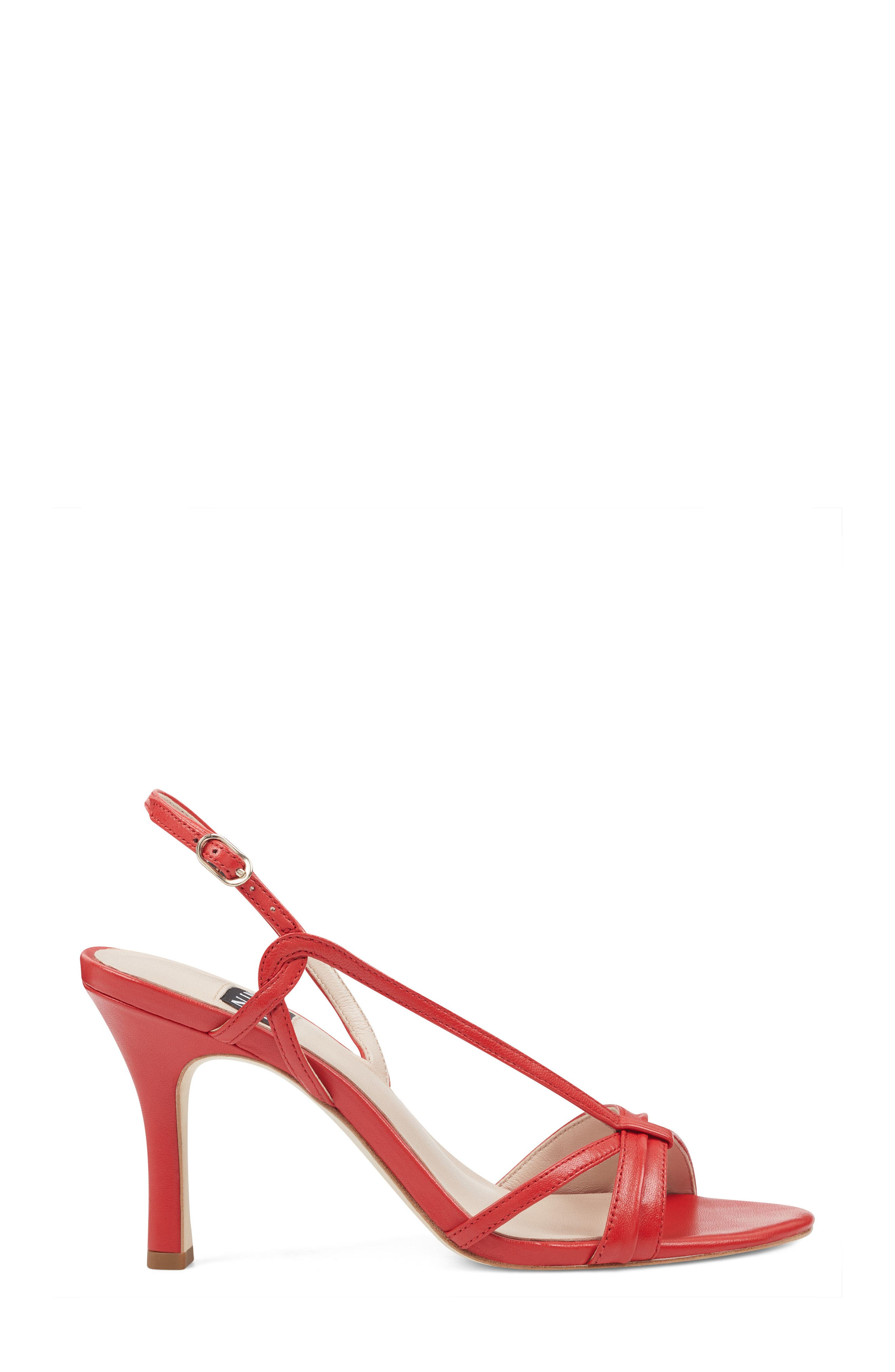 Accolia - 40th Anniversary Capsule Collection Sandal,                             Alternate thumbnail 3, color,                             Red Leather
