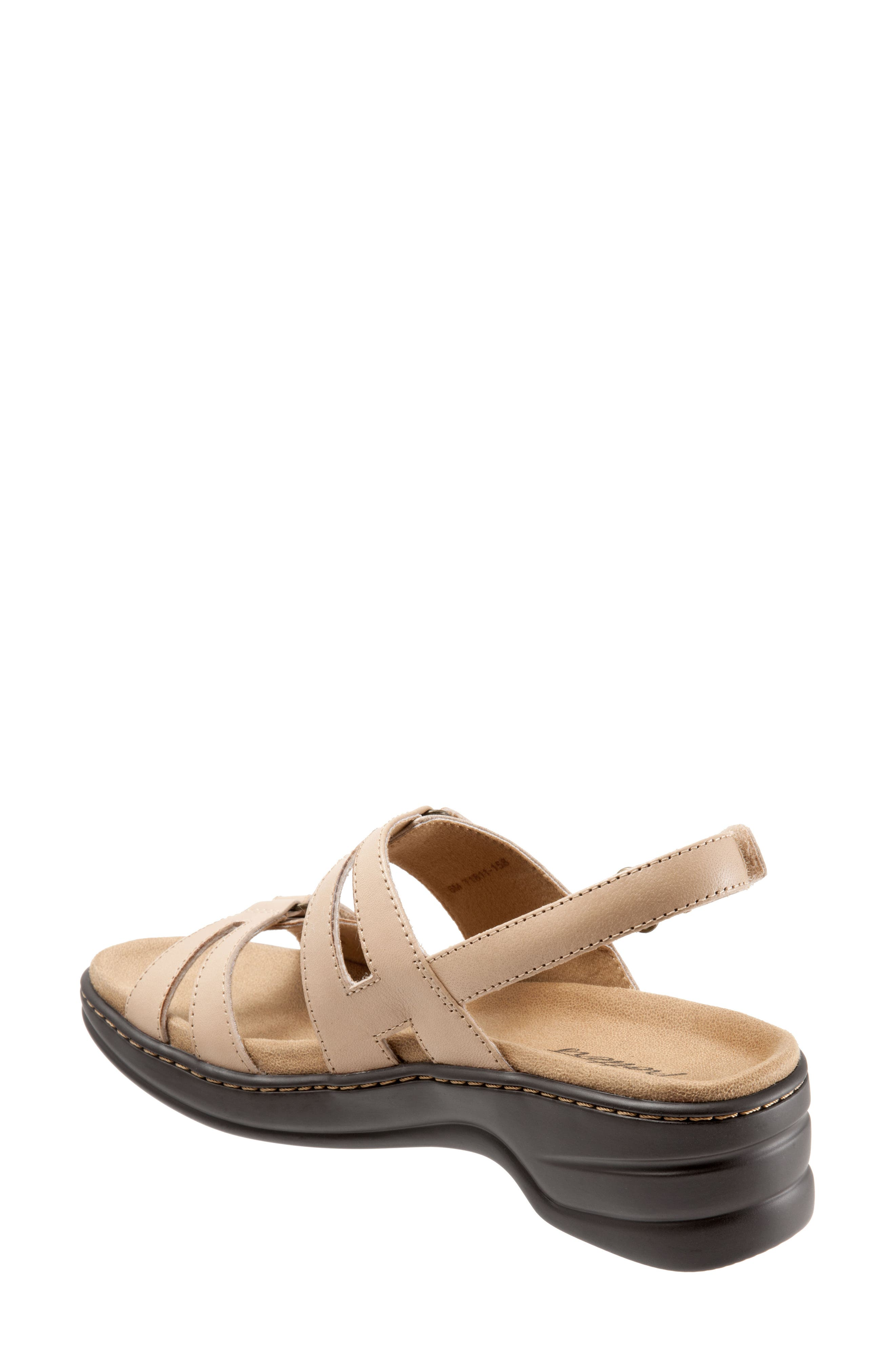 Newton Sandal,                             Alternate thumbnail 2, color,                             Beige/ Off White Leather