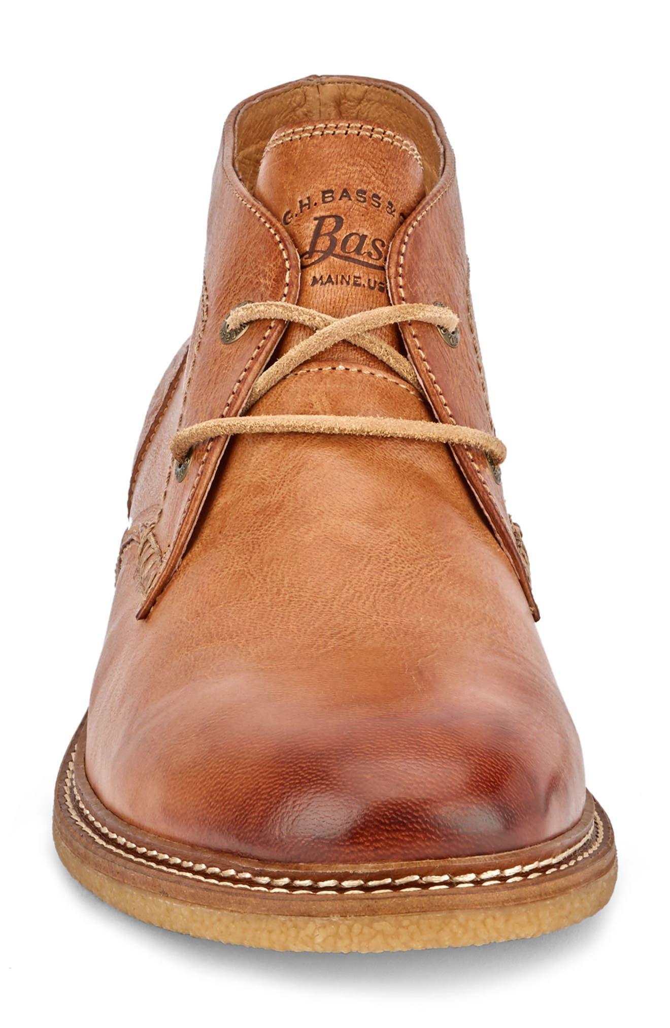 'Bennett' Chukka Boot,                             Alternate thumbnail 4, color,                             Tan Leather
