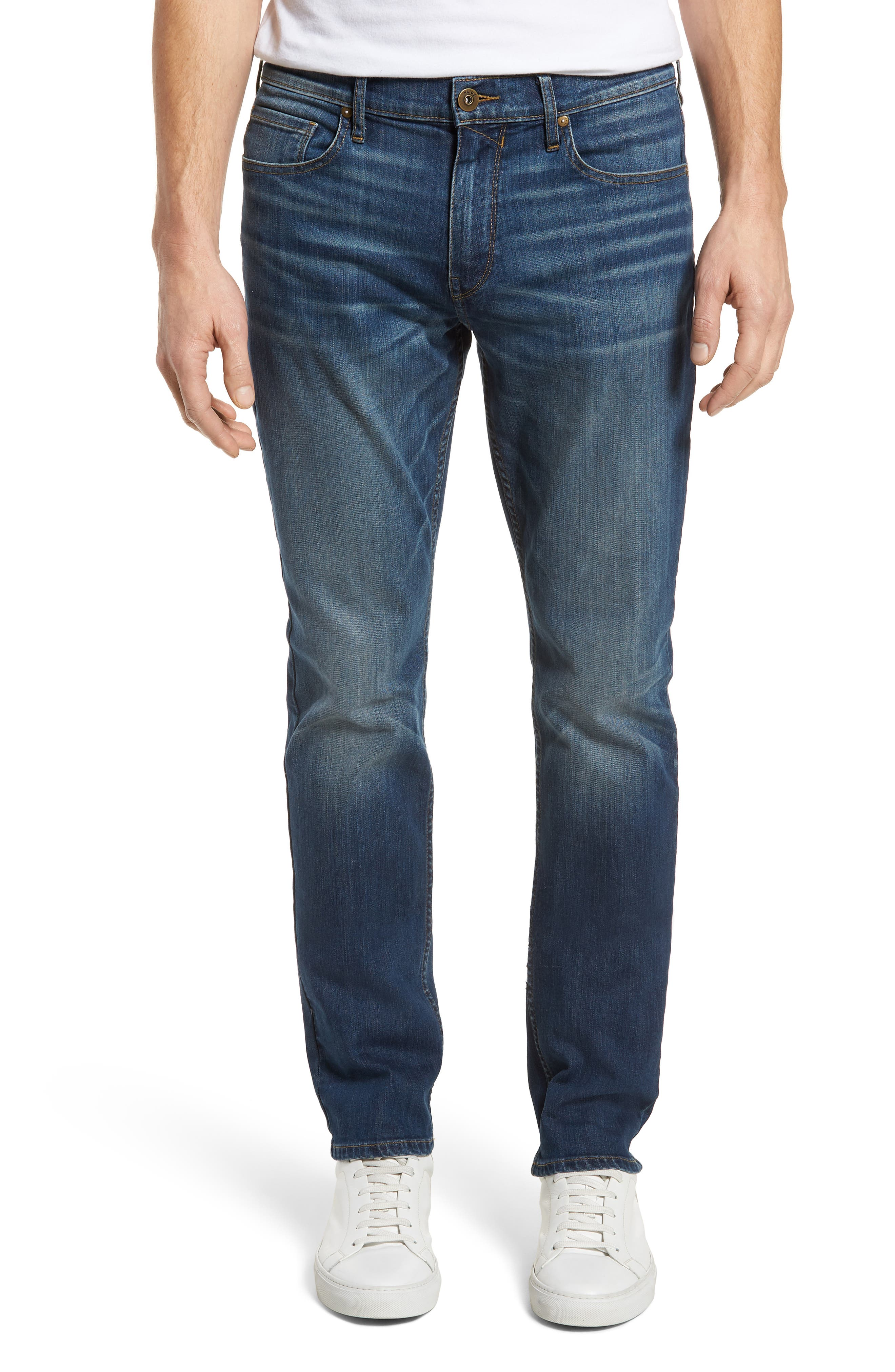 Federal Slim Straight Leg Jeans,                             Main thumbnail 1, color,                             Harlan