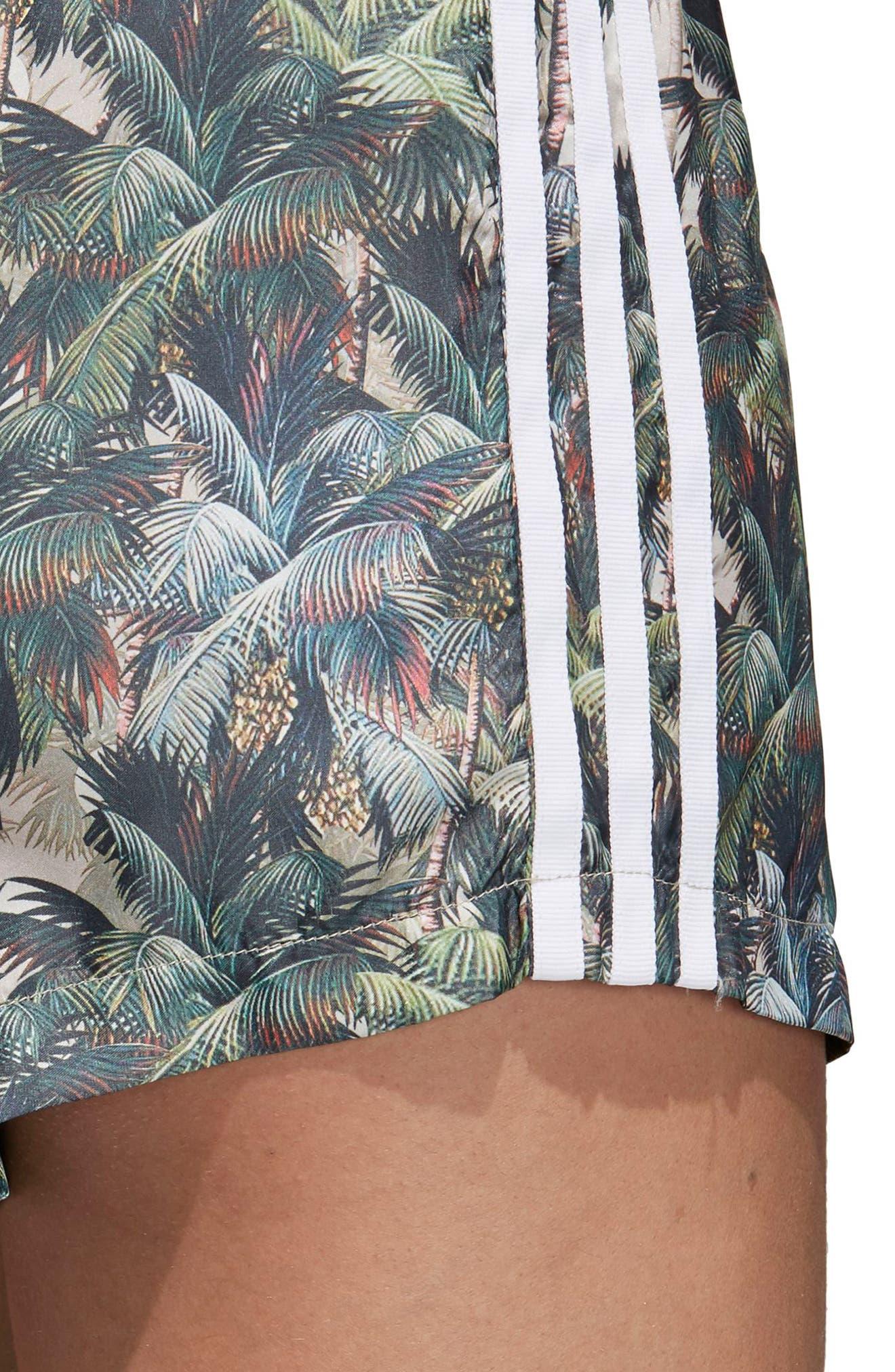 Originals High Waist Shorts,                             Alternate thumbnail 4, color,                             Multicolor
